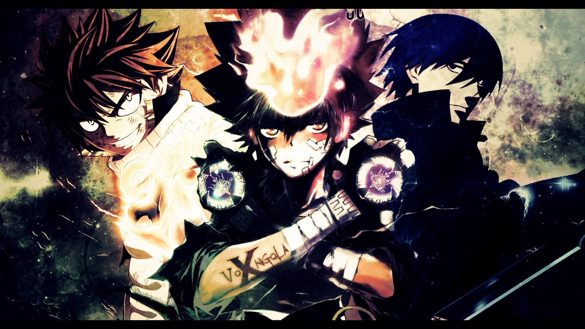 Crossover Wallpapers Backgrounds Wallpaper Abyss Jpg 1920x1080 Space Top Anime Pictures