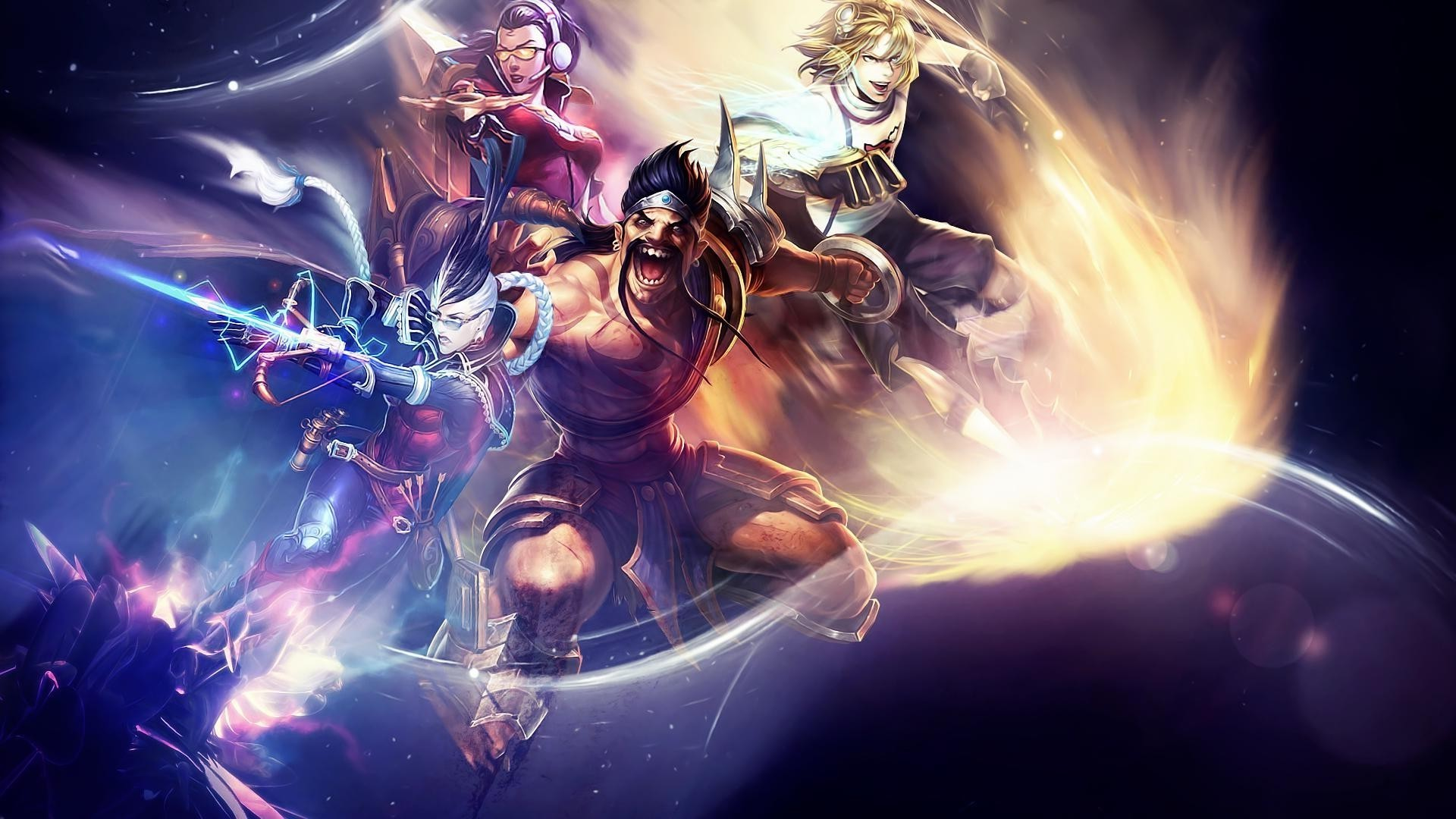 Dual Monitor Wallpaper League Of Legends: Twitch League Of Legends Wallpapers (80+ Background Pictures