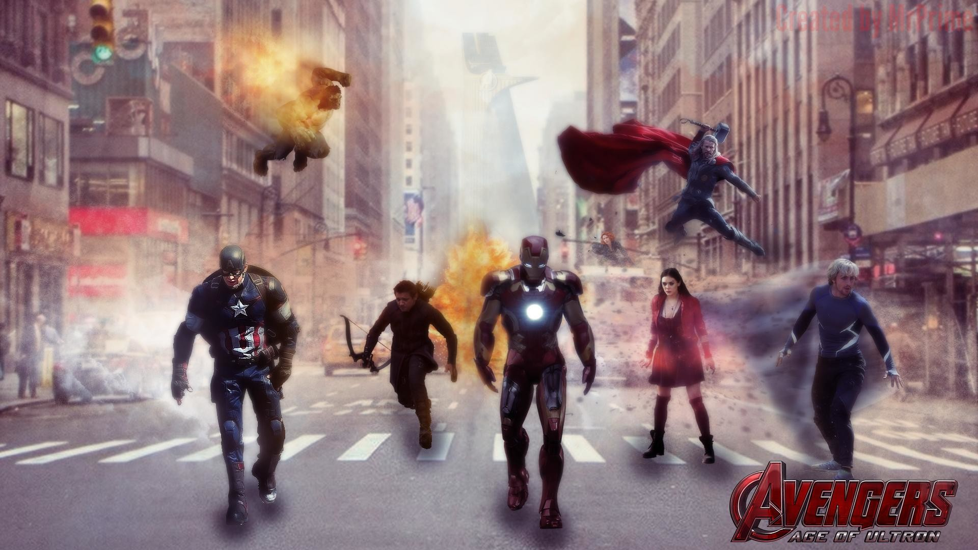 Avengers Age Of Ultron Wallpaper 1920x1080 By Sachso74