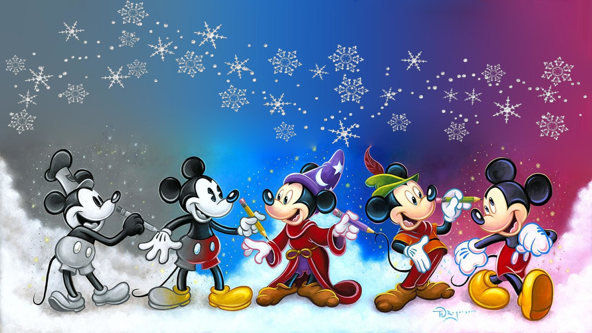 Mickey Mouse Christmas Wallpapers 73 Background Pictures