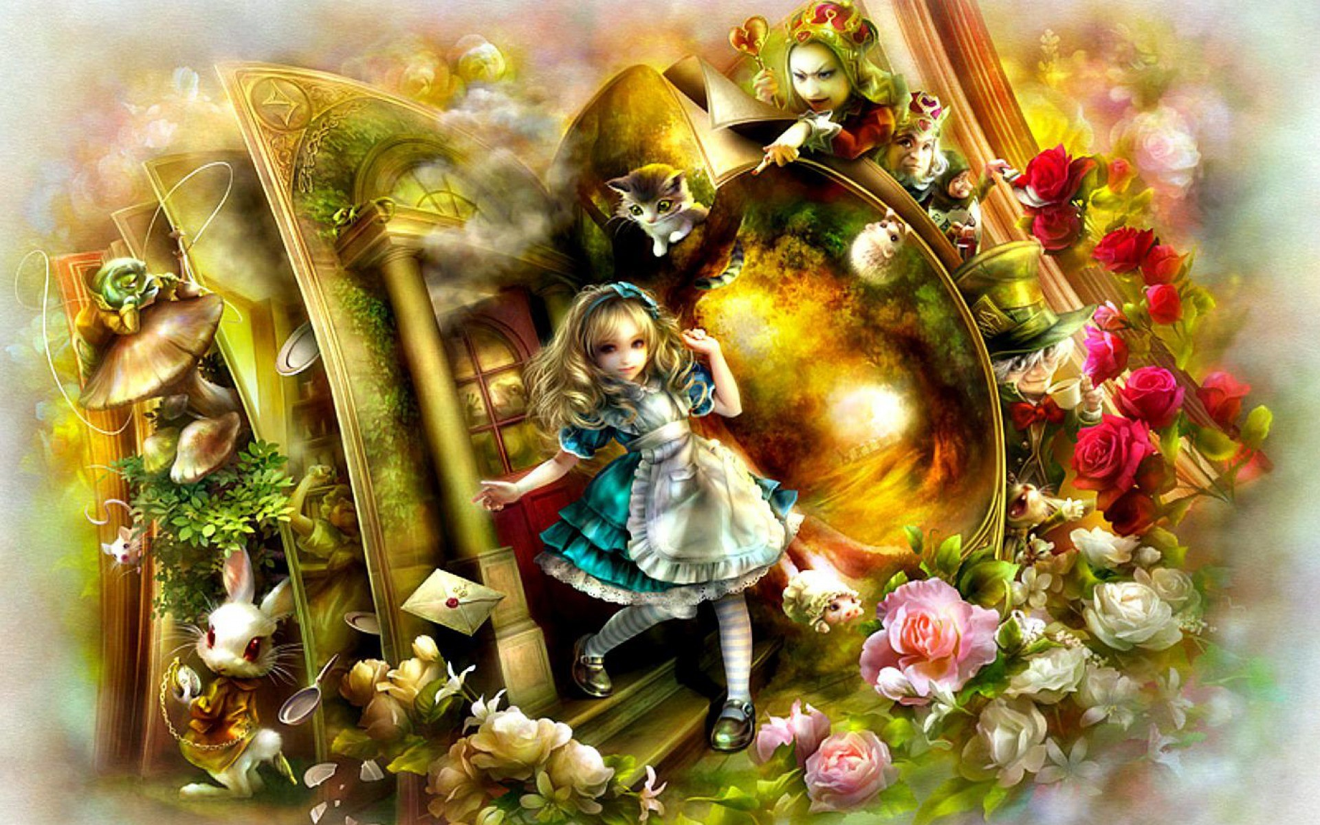 Alice In Wonderland Wallpapers 72 Background Pictures