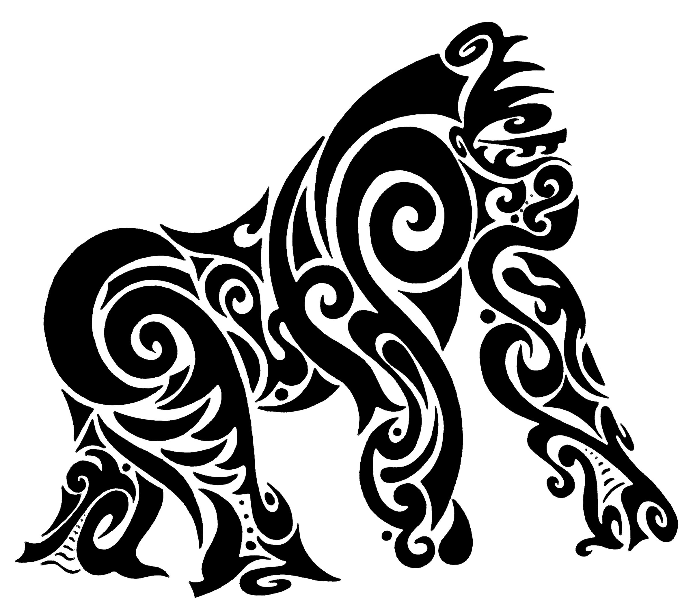 Maori Tattoo Designs Wallpaper: Polynesian Tribal Wallpapers (42+ Background Pictures