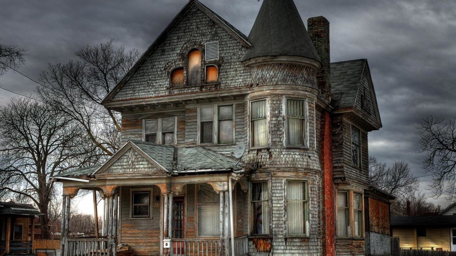 Haunted House Wallpapers (70+ background pictures)