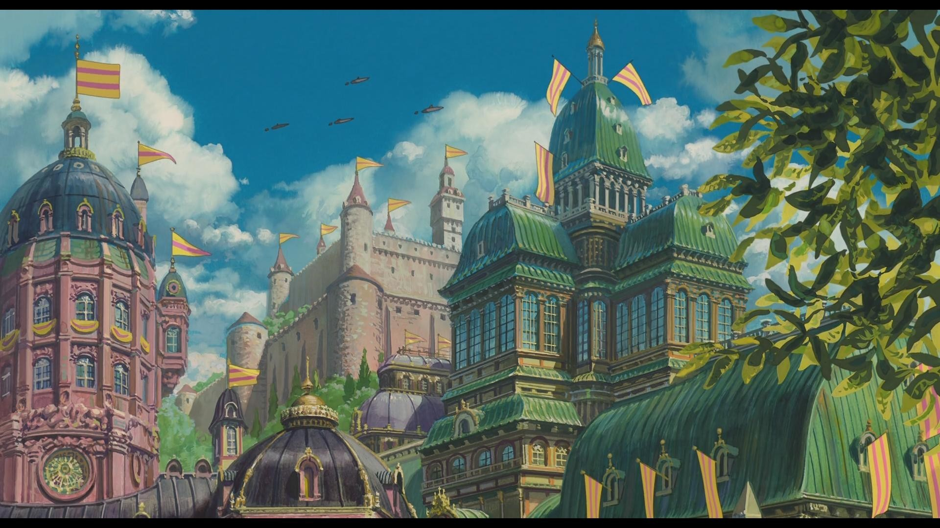 Howls Moving Castle Wallpapers 65 Background Pictures
