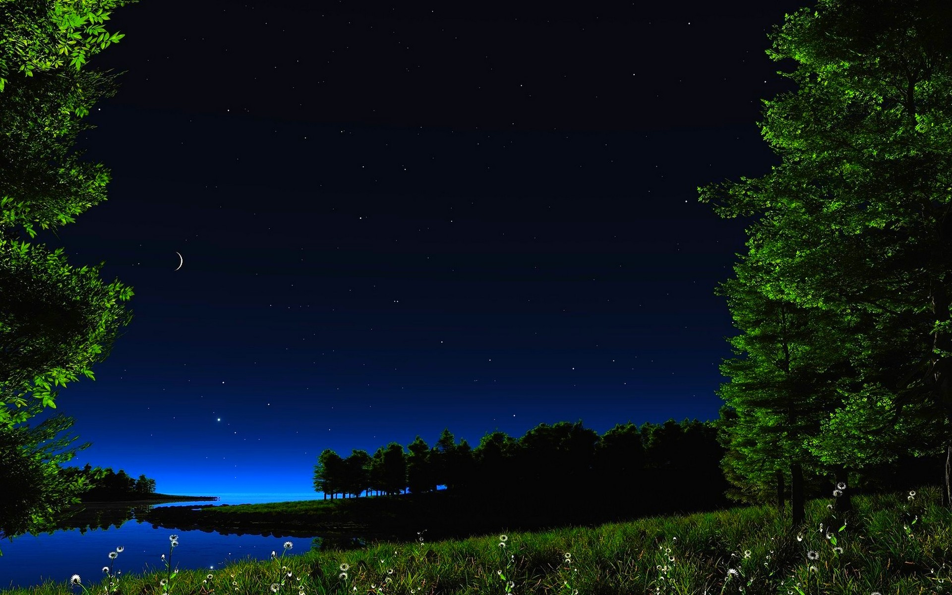 Starry Night Wallpapers 74 Background Pictures