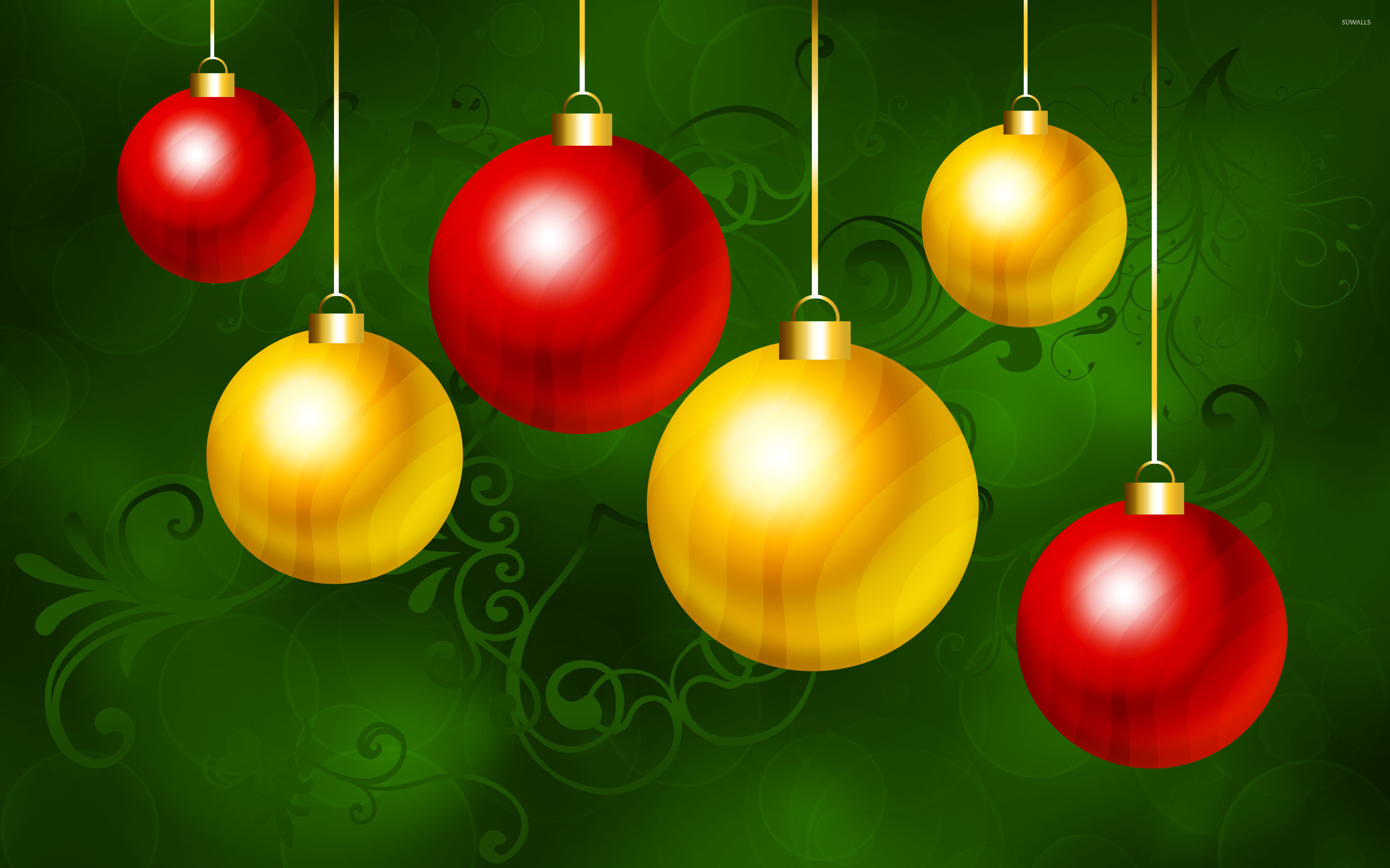 Christmas Ornaments Wallpapers (76+ background pictures)