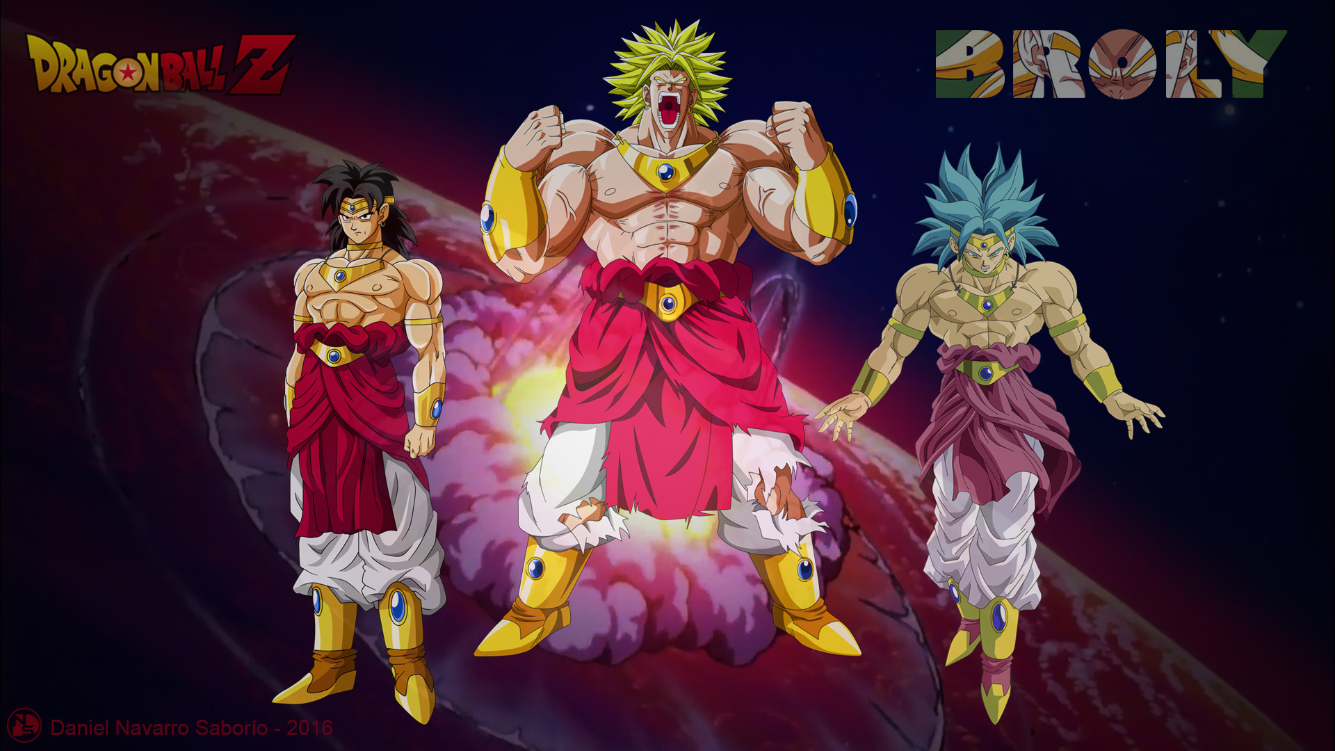1920x1080 Super Saiyan God Goku Vs Legendary Broly