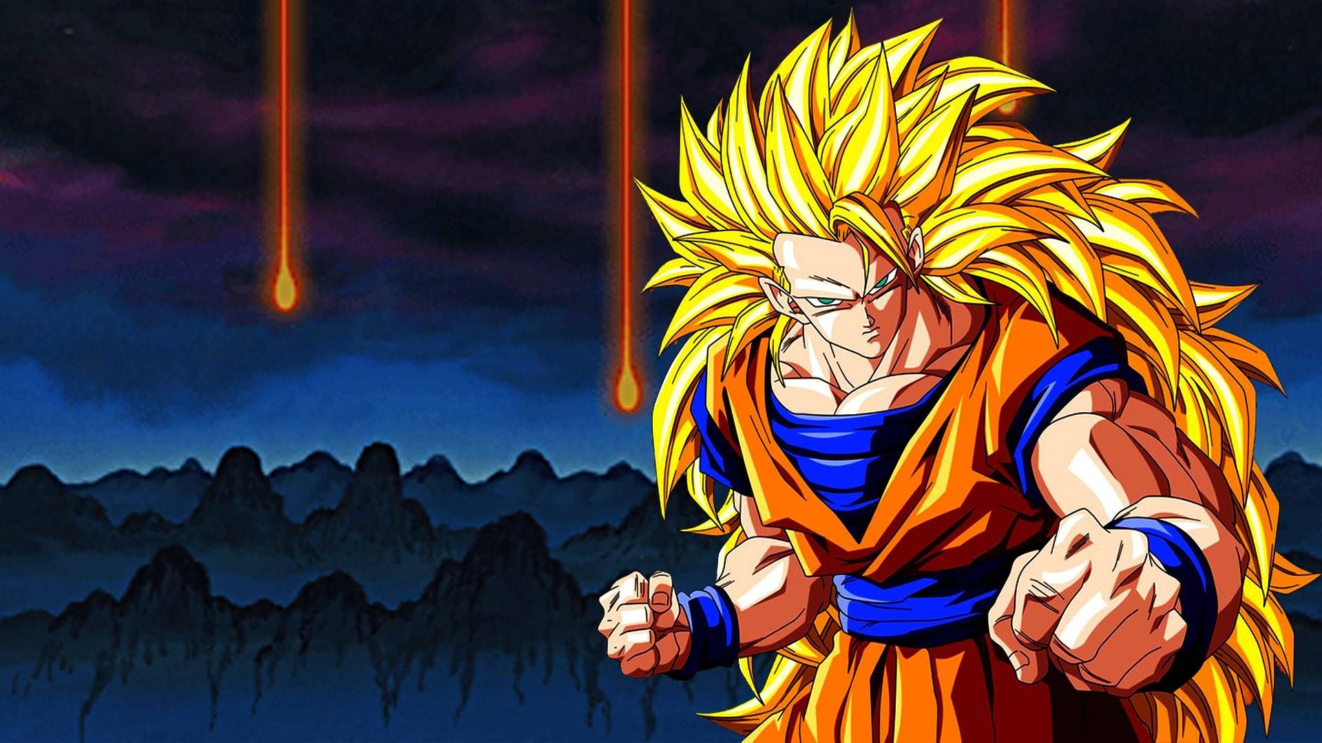 1920x1080 Dragon Ball Z Goku Wallpaper Full HD