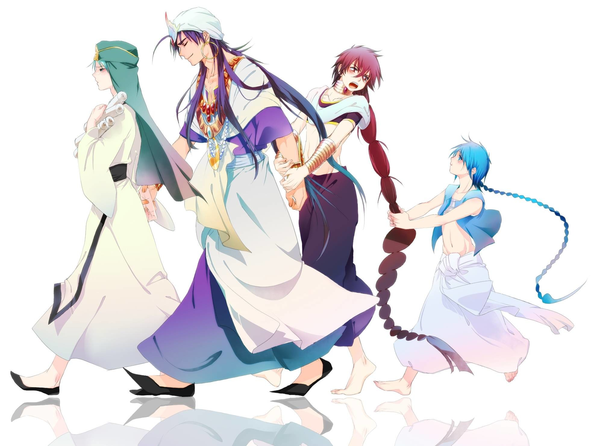 1920x1080 Magi: The Labyrinth of Magic 1080p HD Wallpaper Background