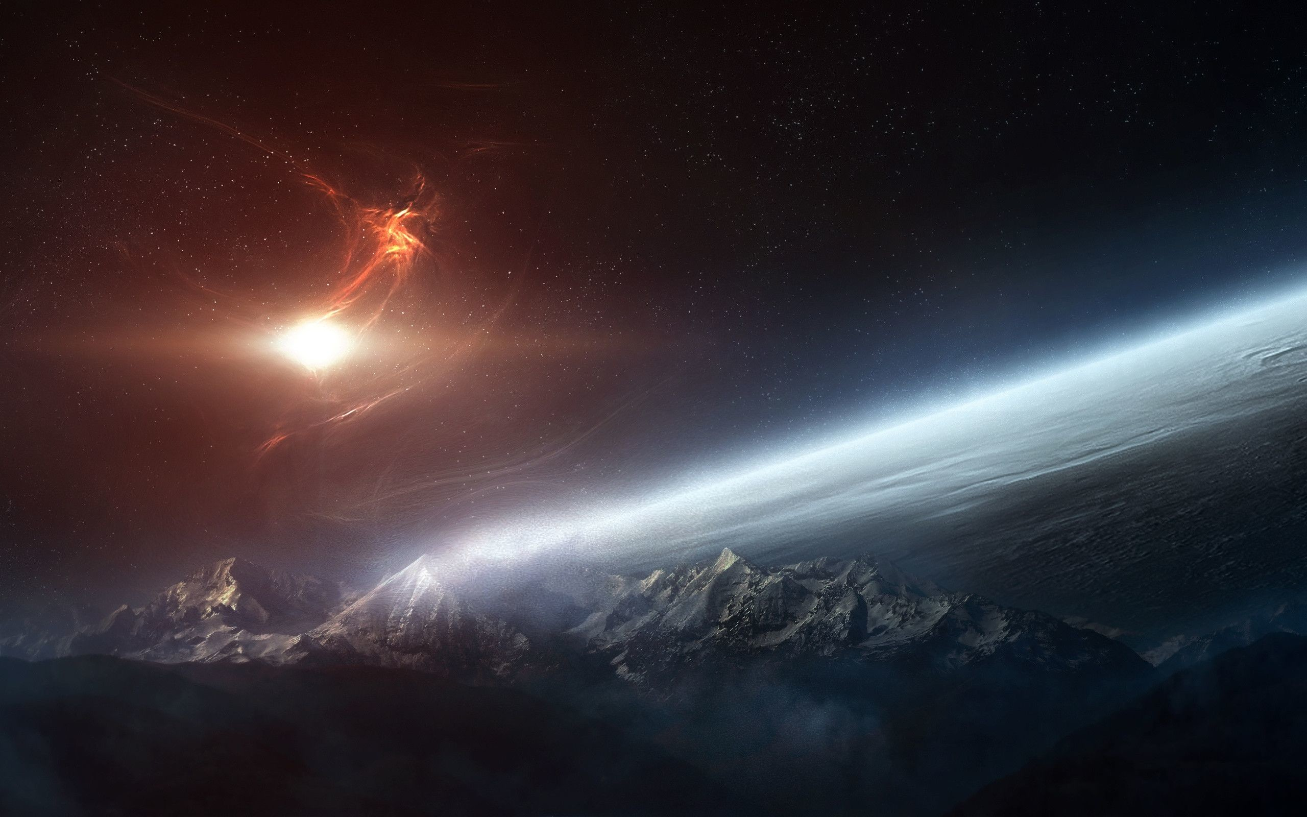 Space Wallpapers 1366x768 81 Background Pictures