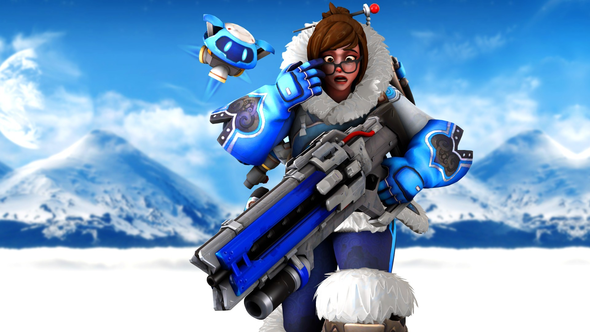 Mei overwatch wallpapers 70 background pictures - Overwatch christmas wallpaper ...