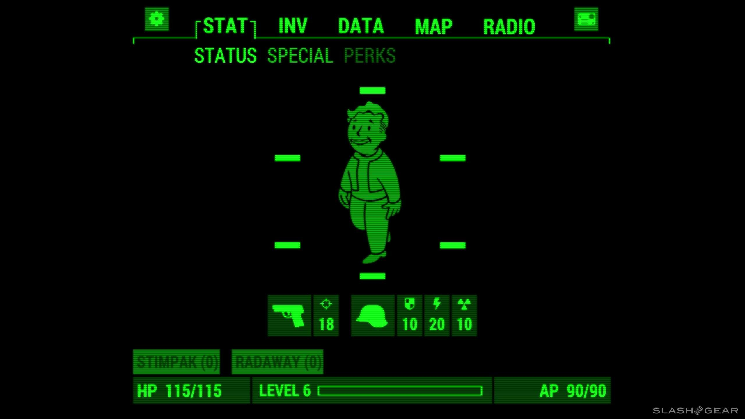 how to get fallout widescreen