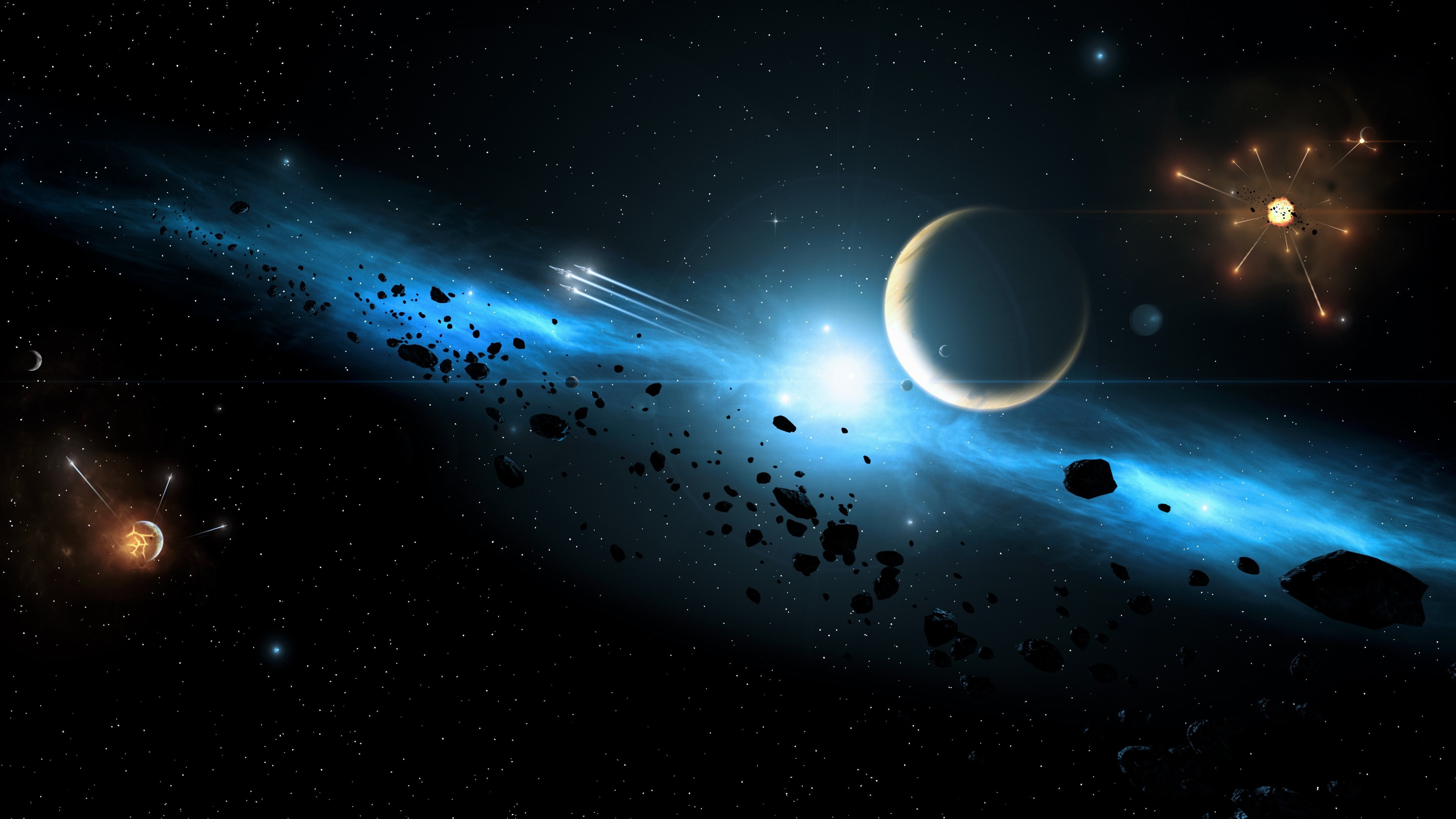 Space wallpapers 4k 77 background pictures - Spacecraft wallpaper ...