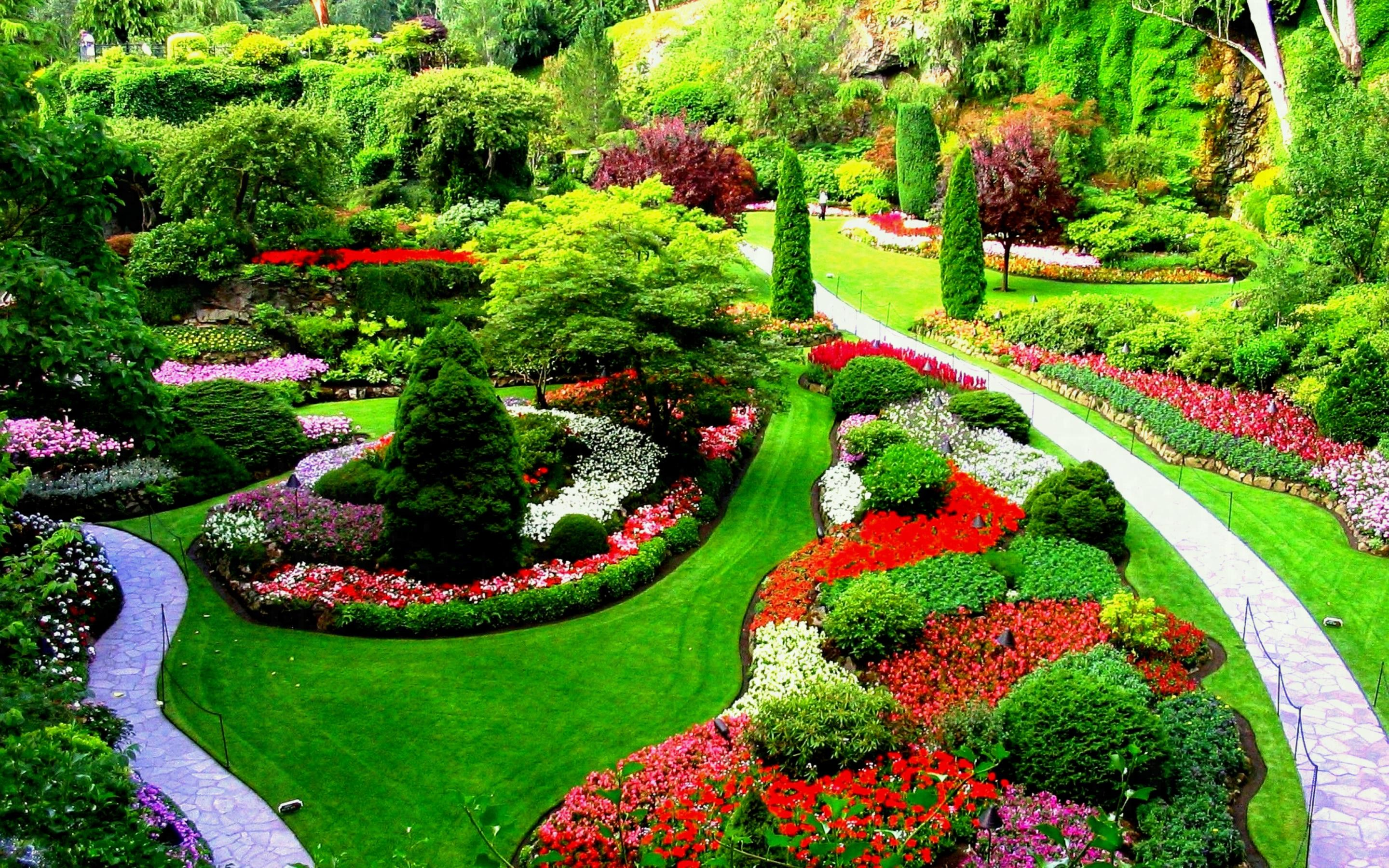 Flower Gardens Wallpapers (61+ background pictures)