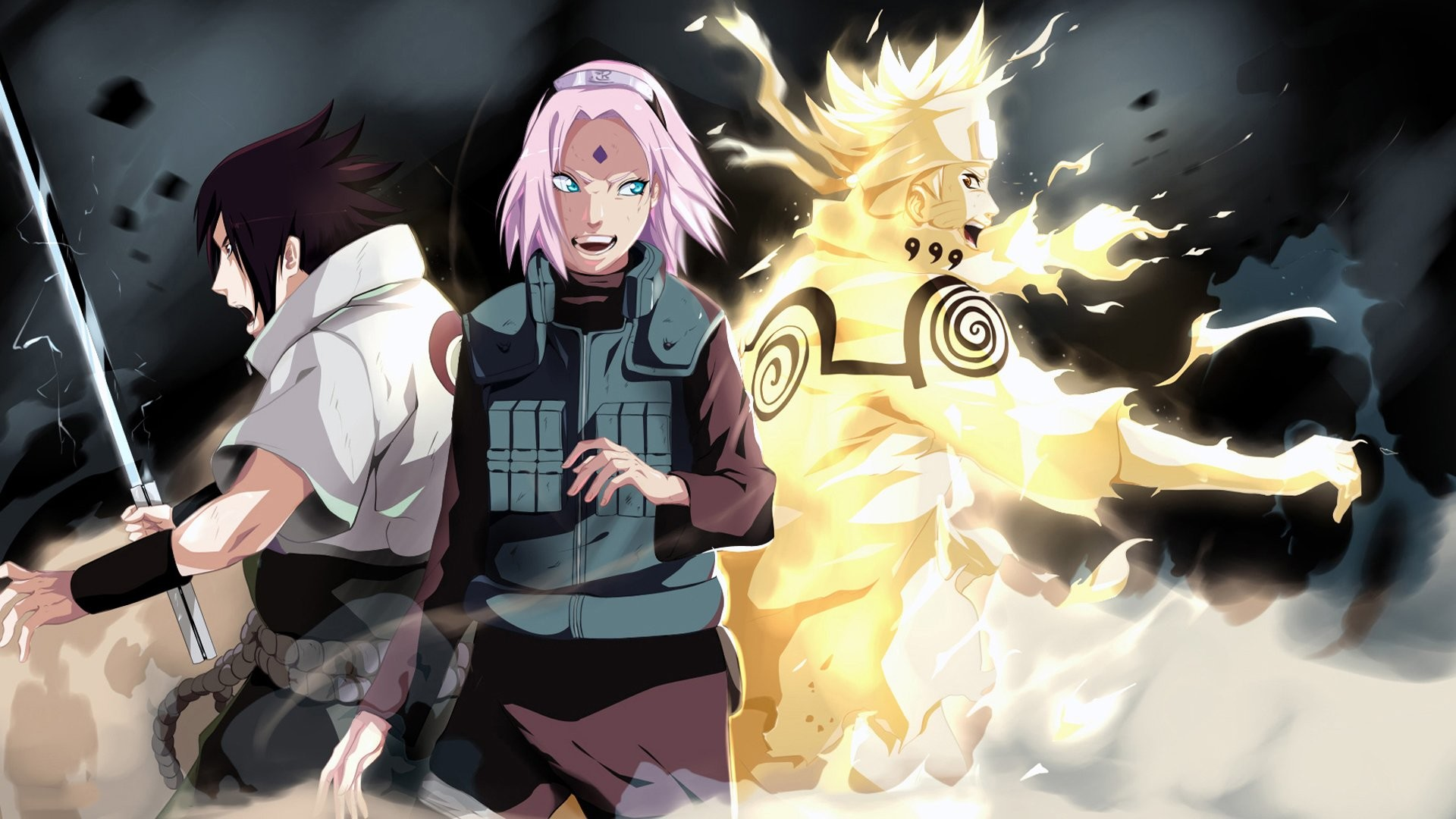 Naruto And Sakura Wallpapers 58 Background Pictures
