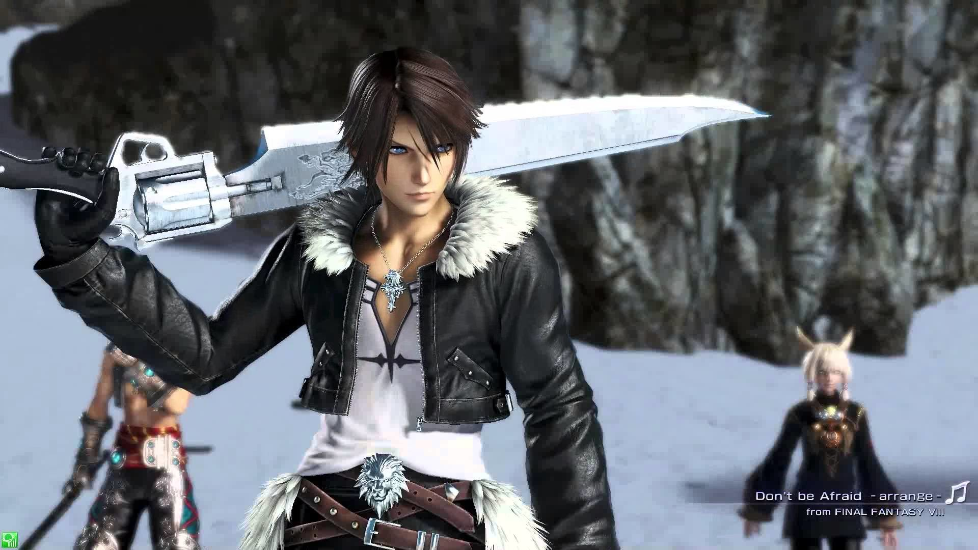 The image for squall dissidia nt
