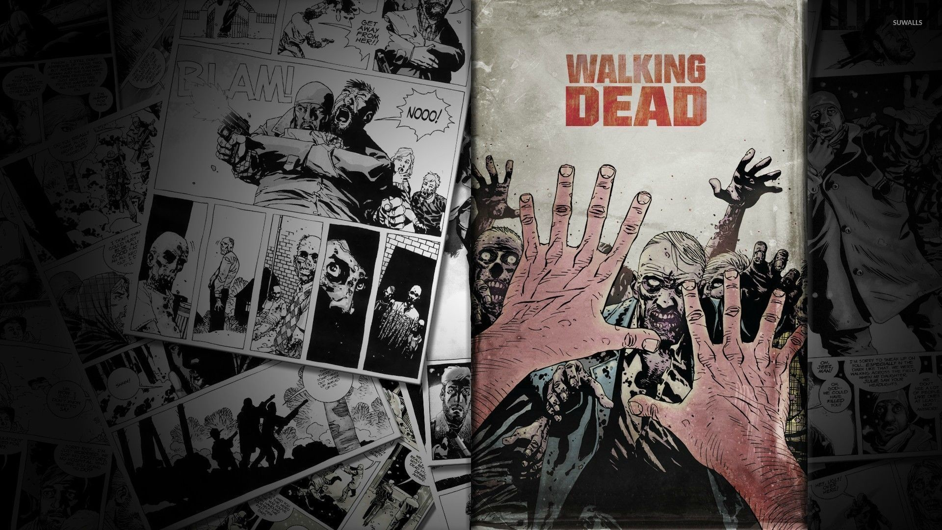 1920x1200 Comics Walking Dead The Manga Rick Grimes Wallpaper