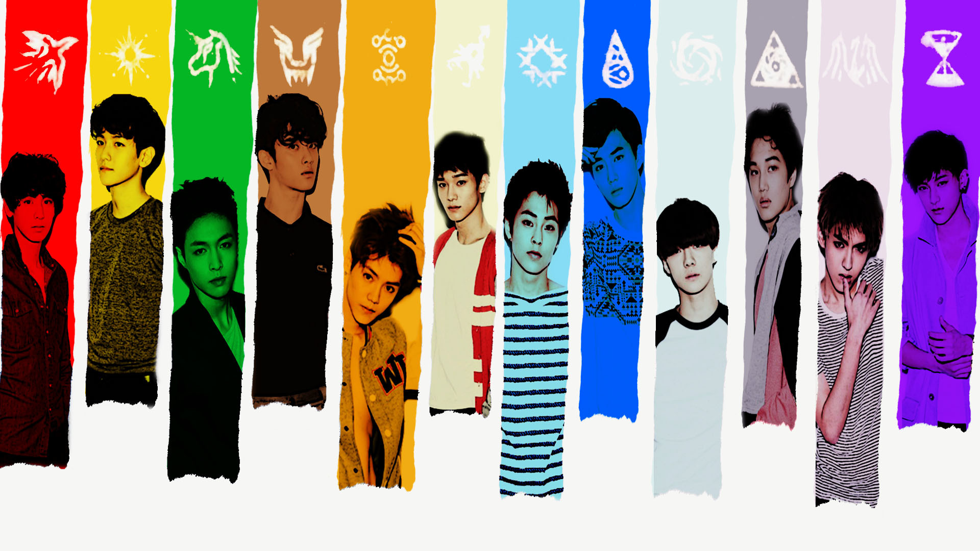 Exo K Pop Wallpapers 80 Background Pictures