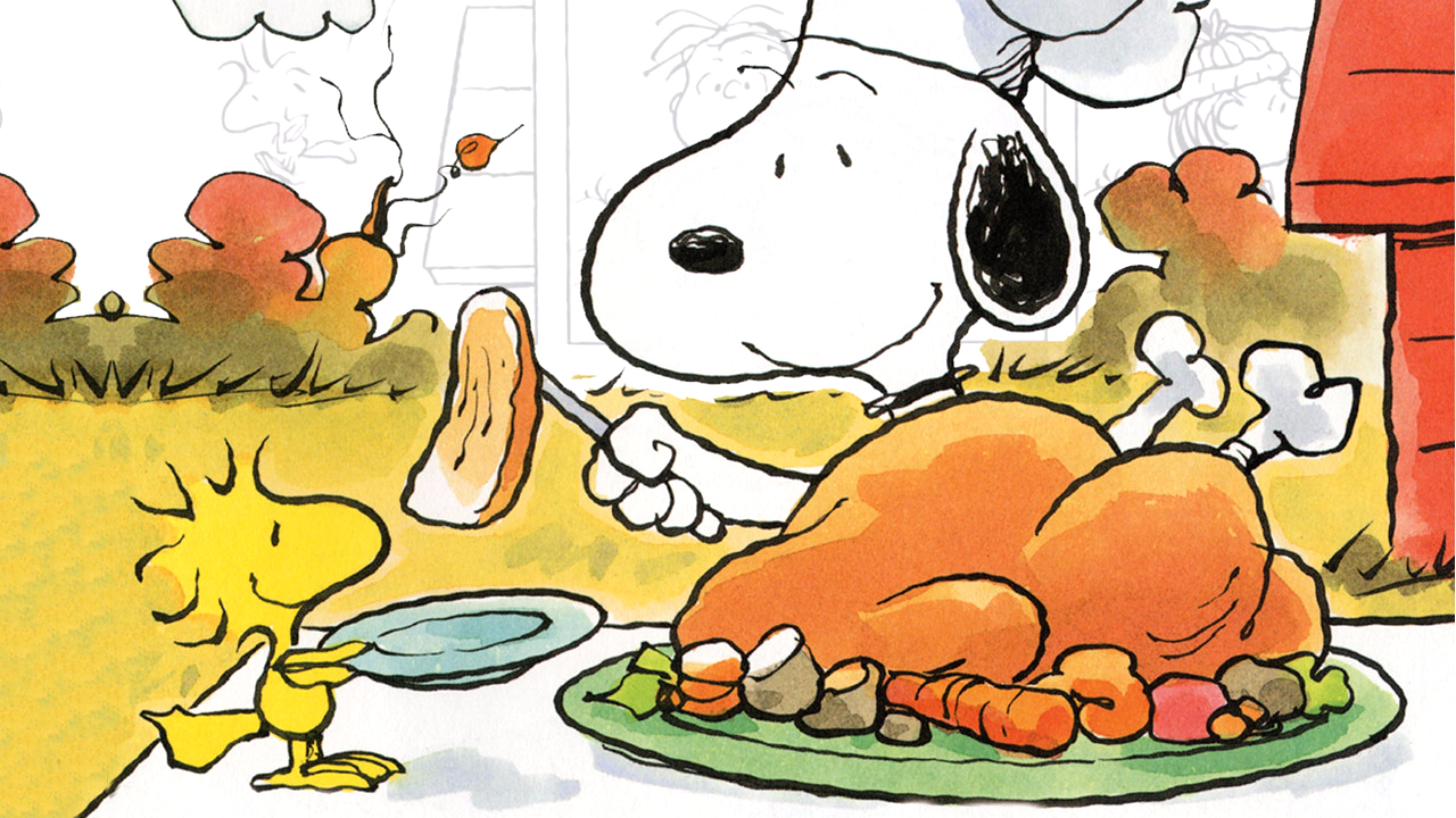 Peanuts Thanksgiving Wallpapers 54 Background Pictures