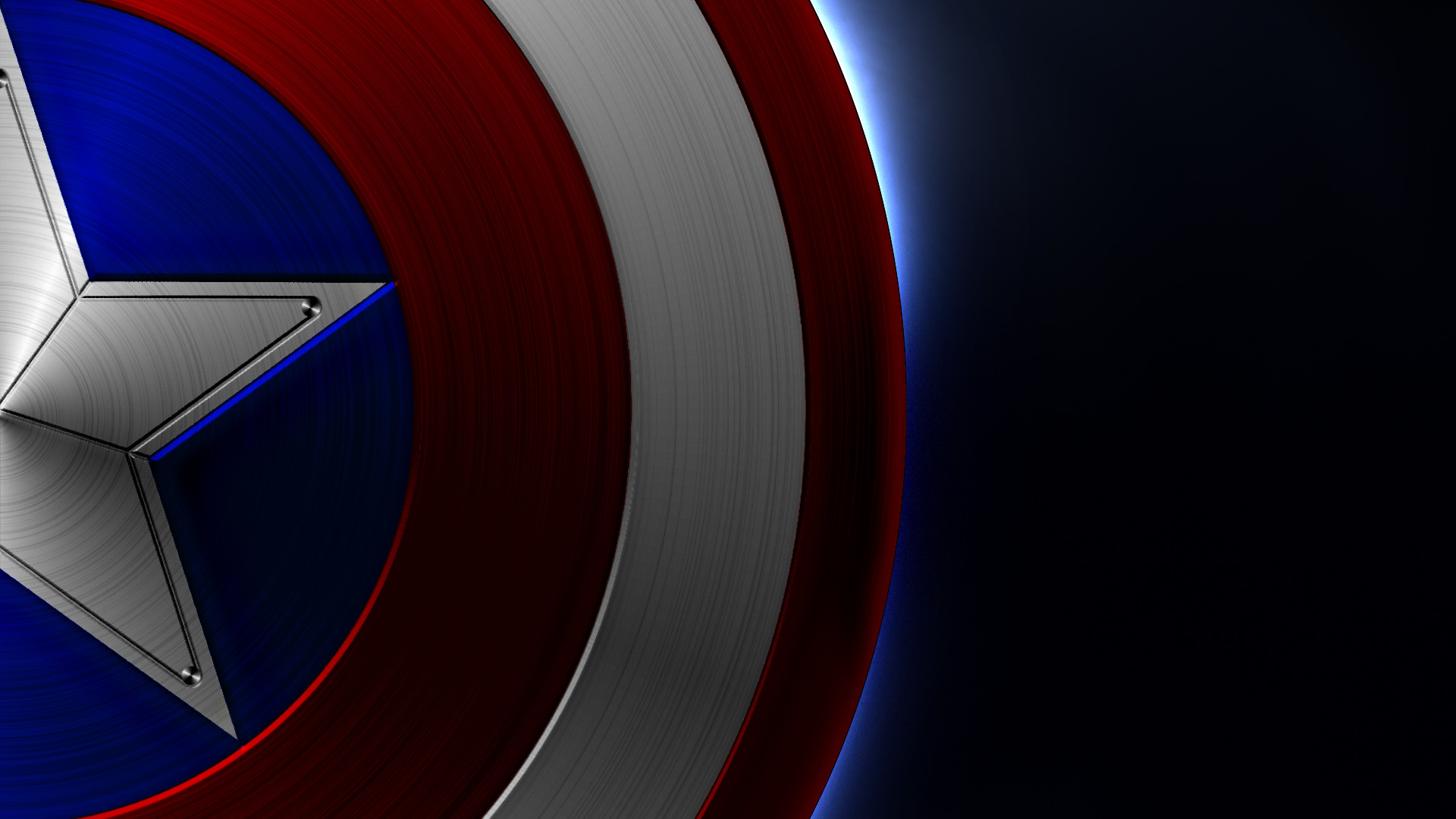 Captain America: Captain America Logo Wallpaper Android