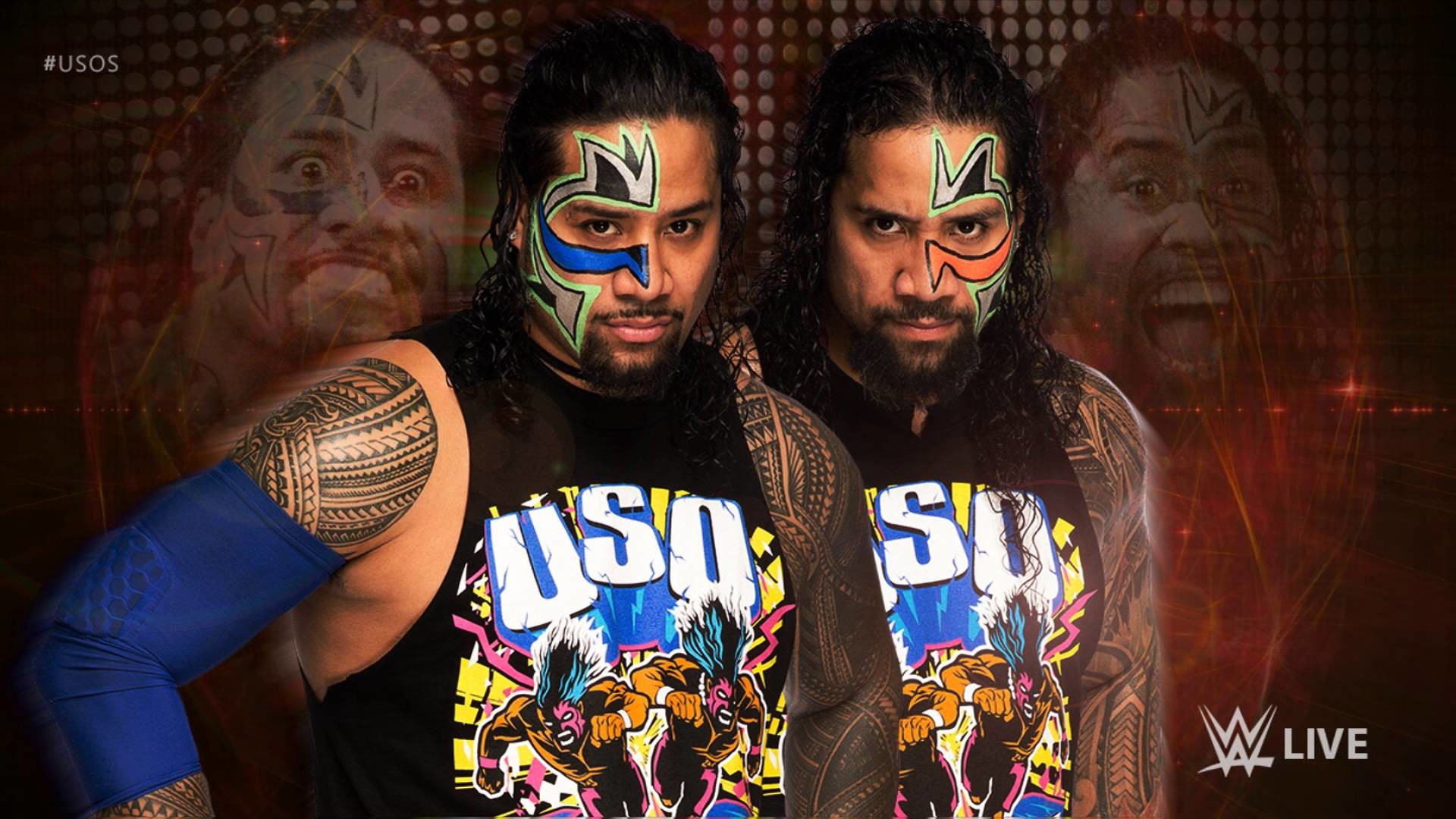 The usos wallpapers 87 background pictures - The usos theme song so close now ...