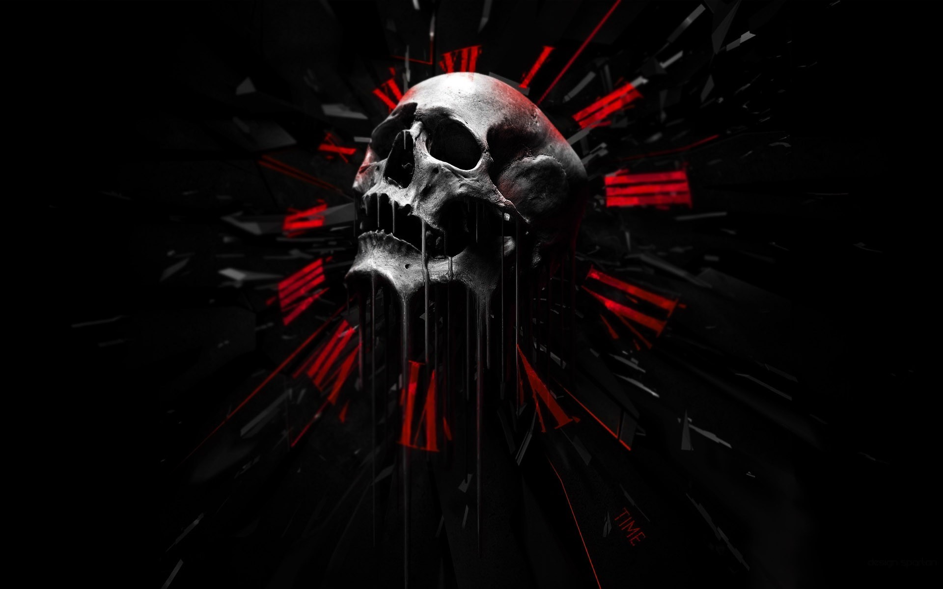 Cool Black And Red Wallpaper For Pc