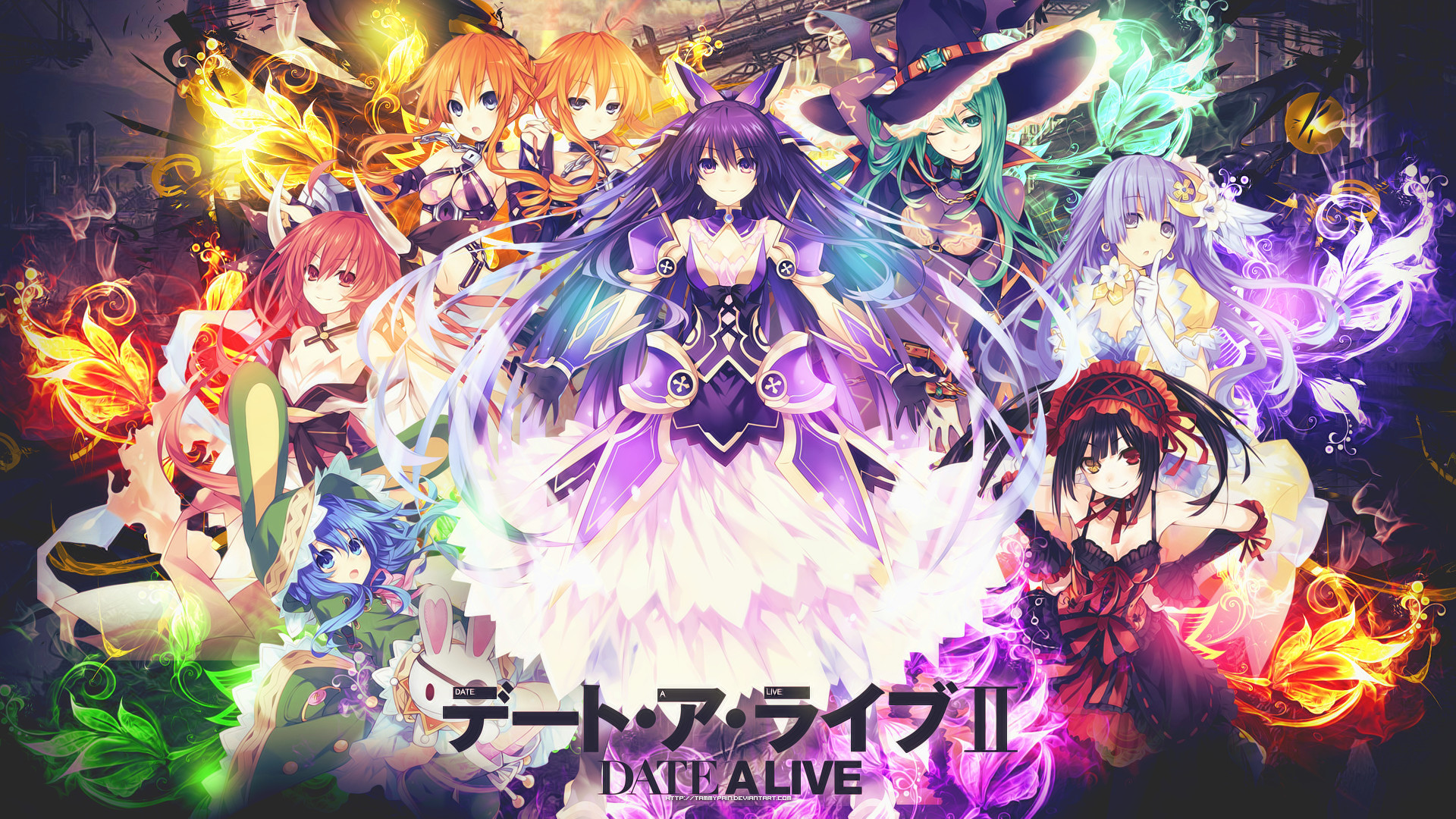 Date A Live Wallpapers 66 Background Pictures
