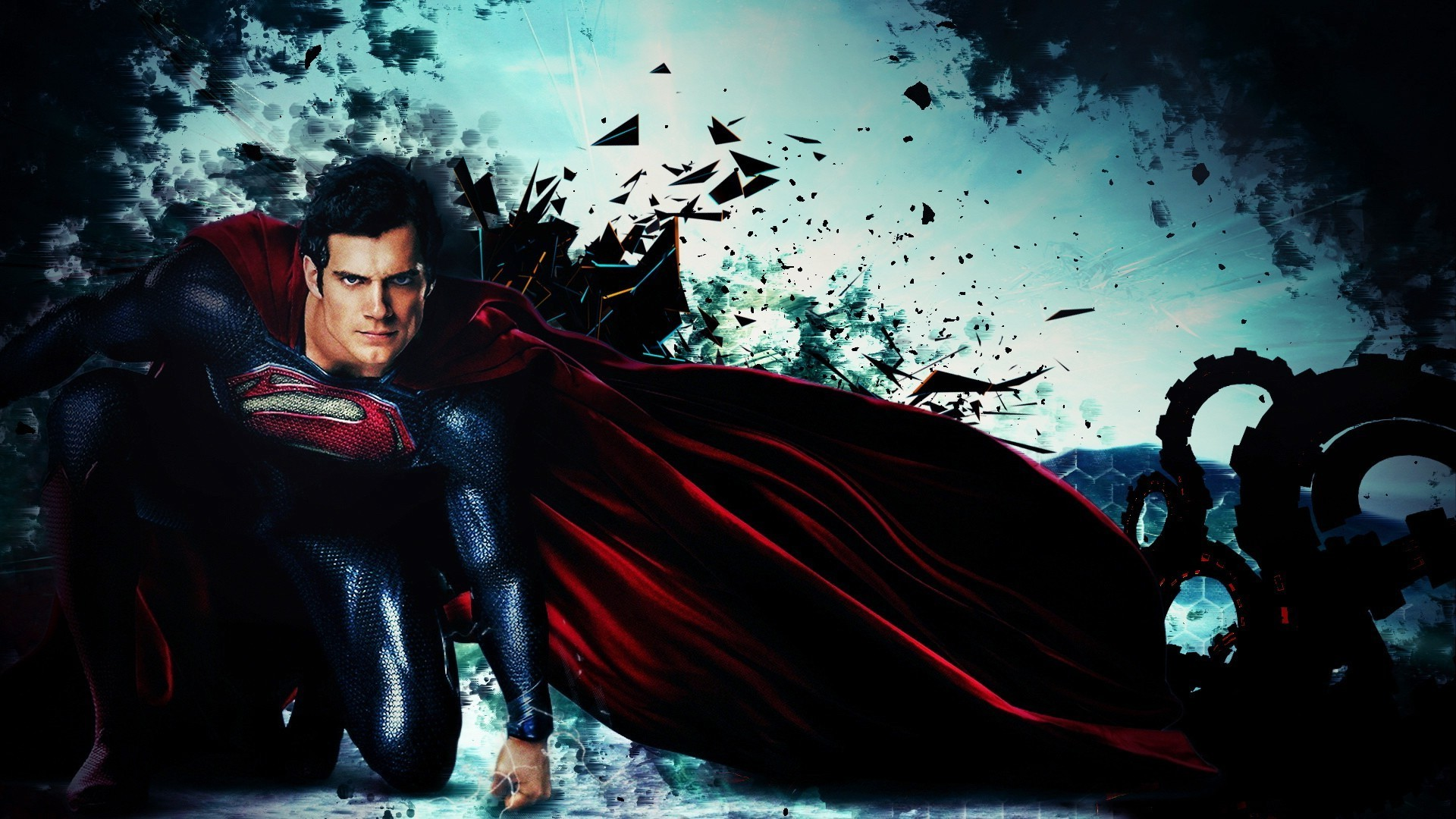 1920x1080 Superman Man Of Steel Wallpapers Images