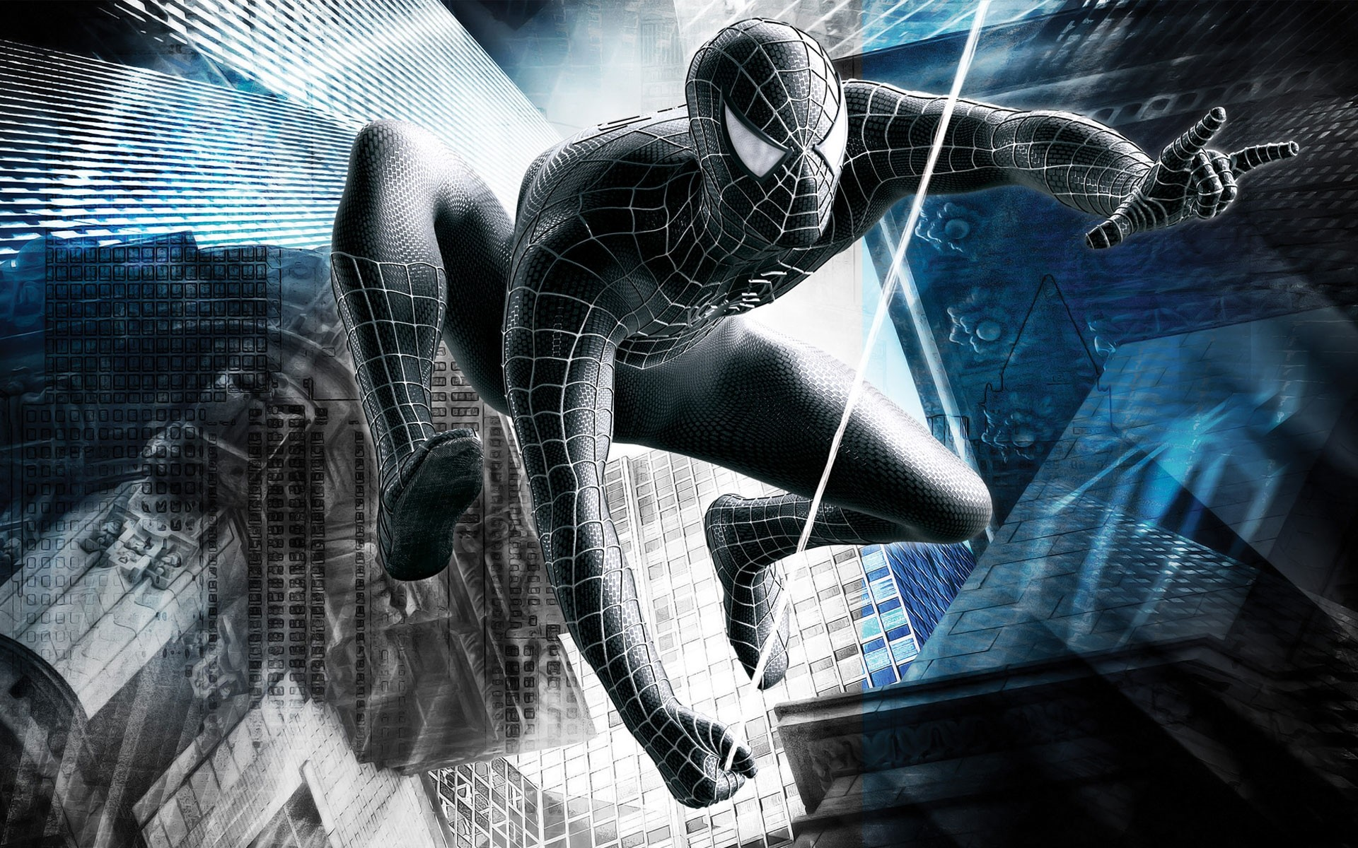 black spider man wallpapers (71+ background pictures)