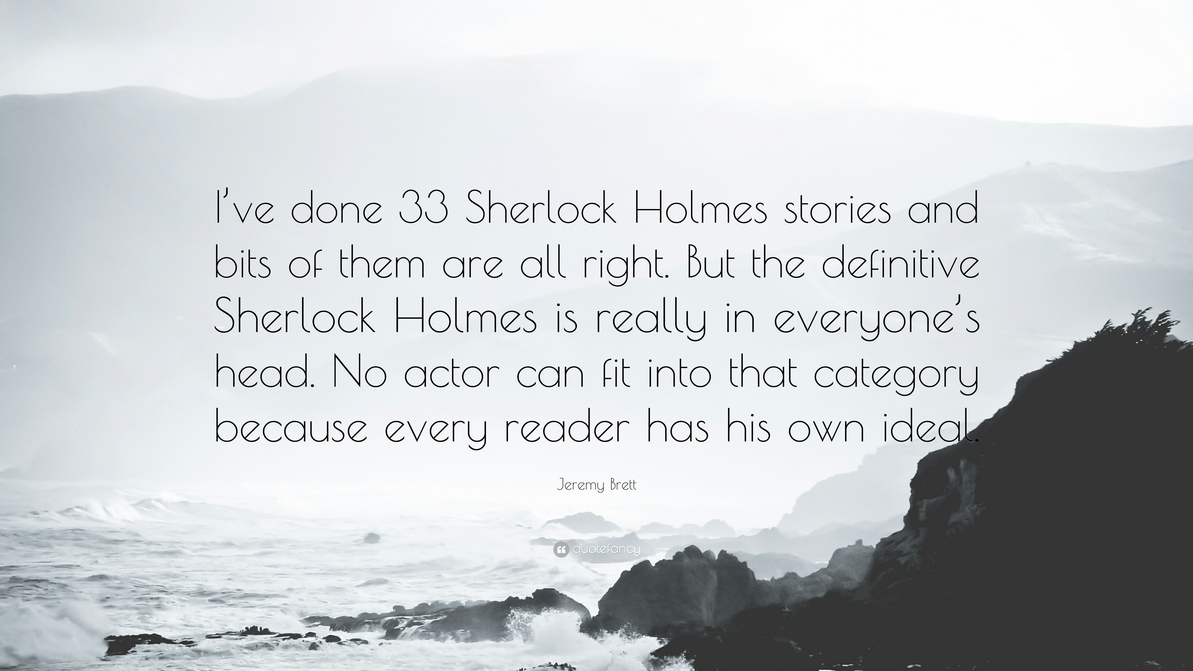 Sherlock Holmes Quotes Wallpapers (76+ background pictures)