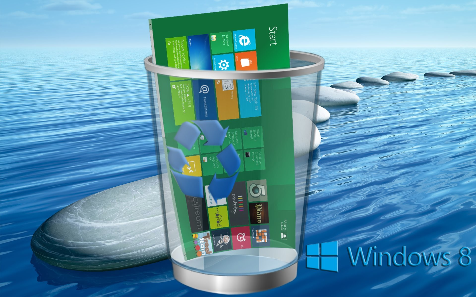 Windows 8 3D Wallpapers (73+ background pictures)