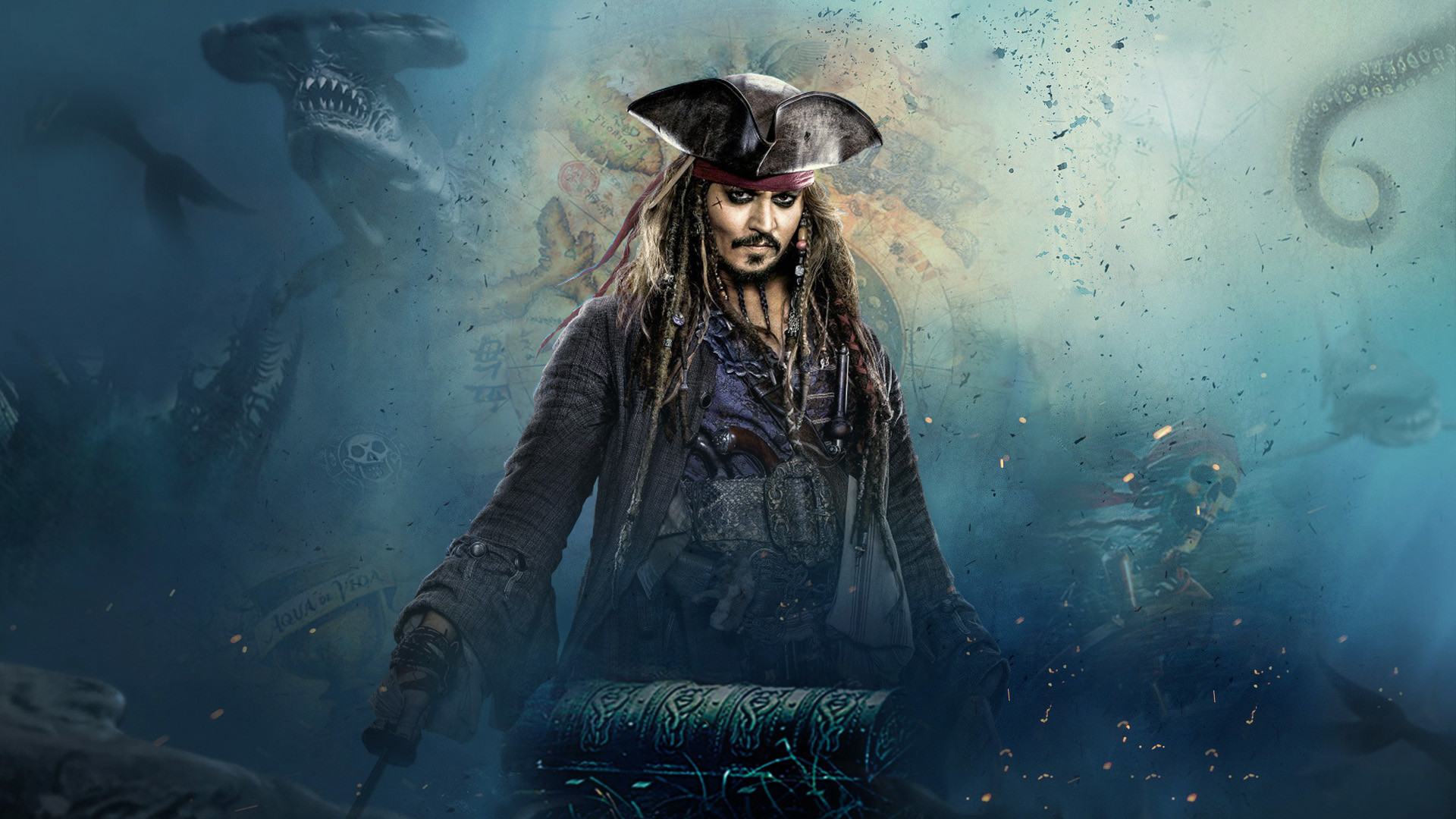 Pirates of the caribbean wallpapers 70 background pictures - Caribbean iphone wallpaper ...