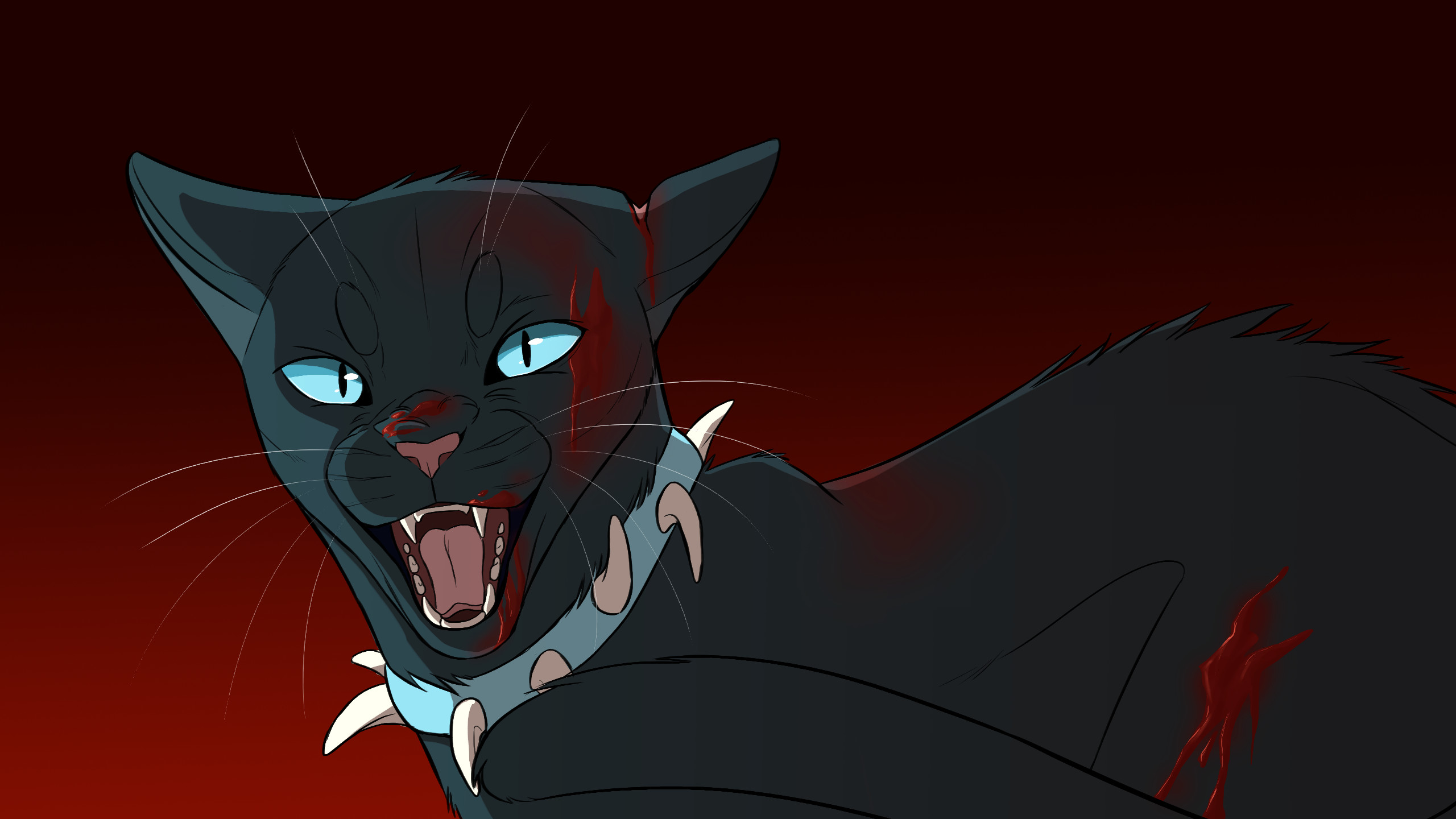 Warrior Cats Wallpapers Scourge Background Pictures Jpg 2560x1440 And Hollyleaf