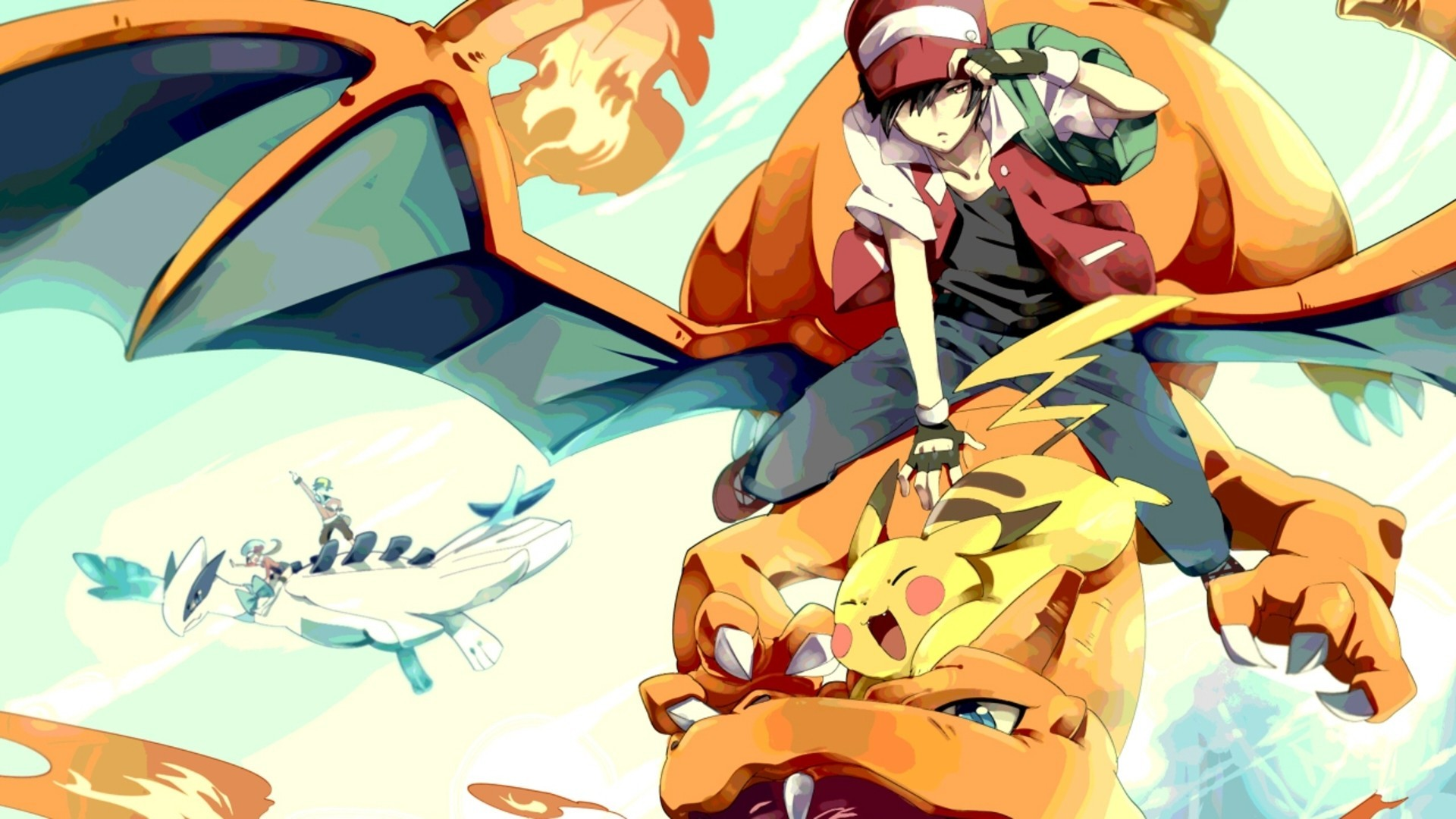 3600x2025 Badass Pokemon Red Wallpaper Picture A Gamers 1080p
