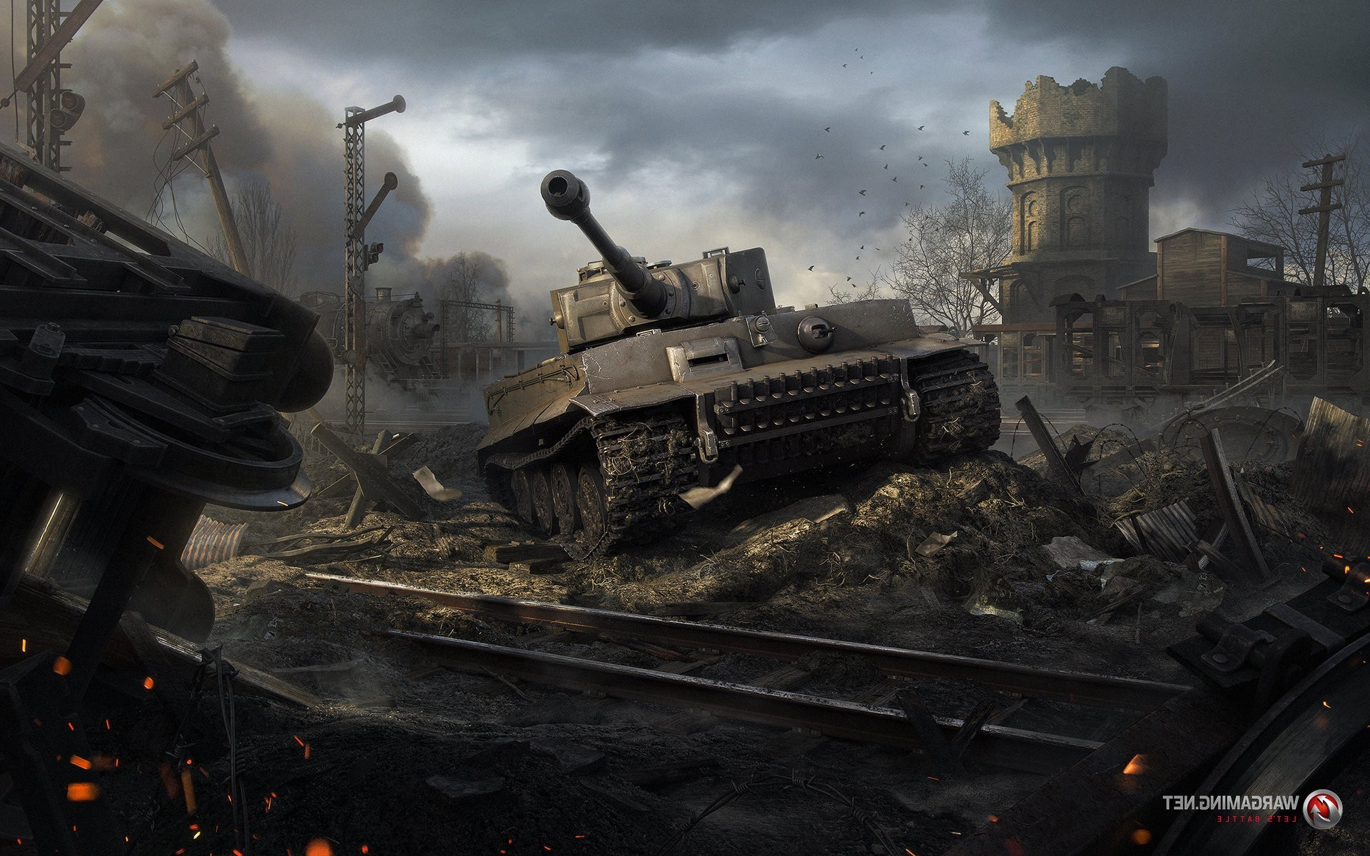 1920x1080 World Of Tanks King Tiger Wallpapers