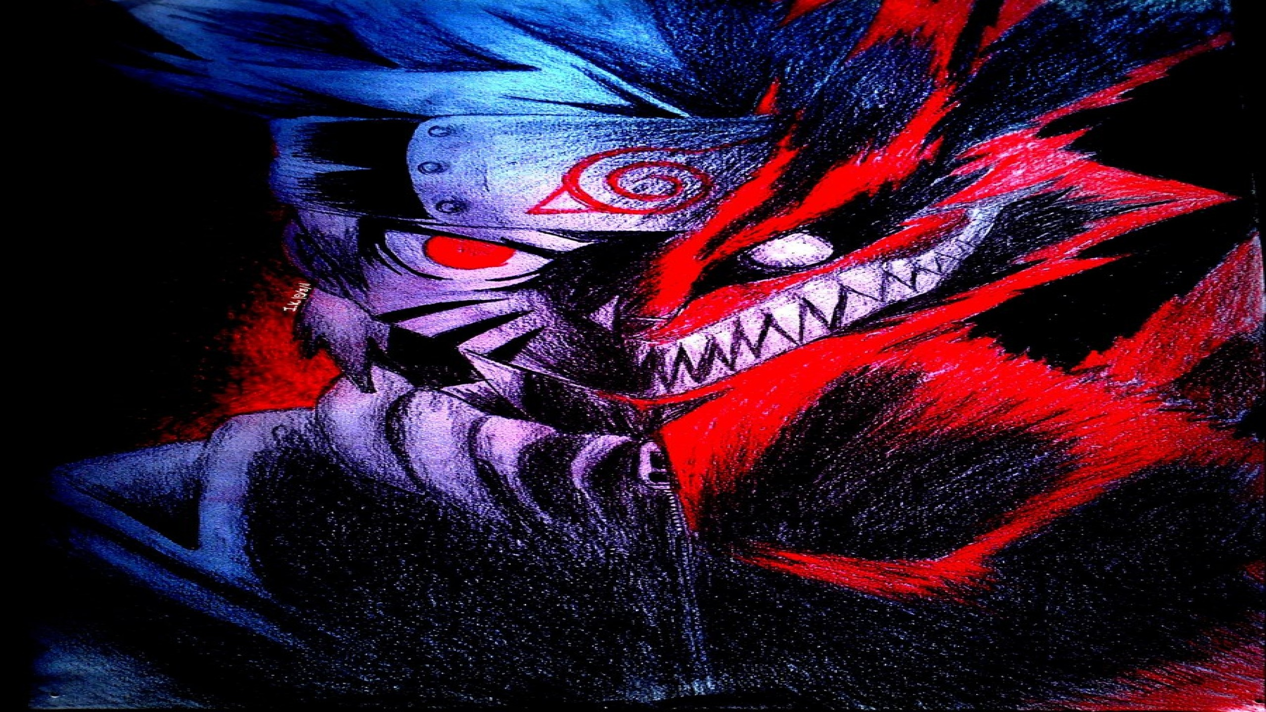 Naruto Nine Tailed Fox Wallpapers (61+ background pictures)
