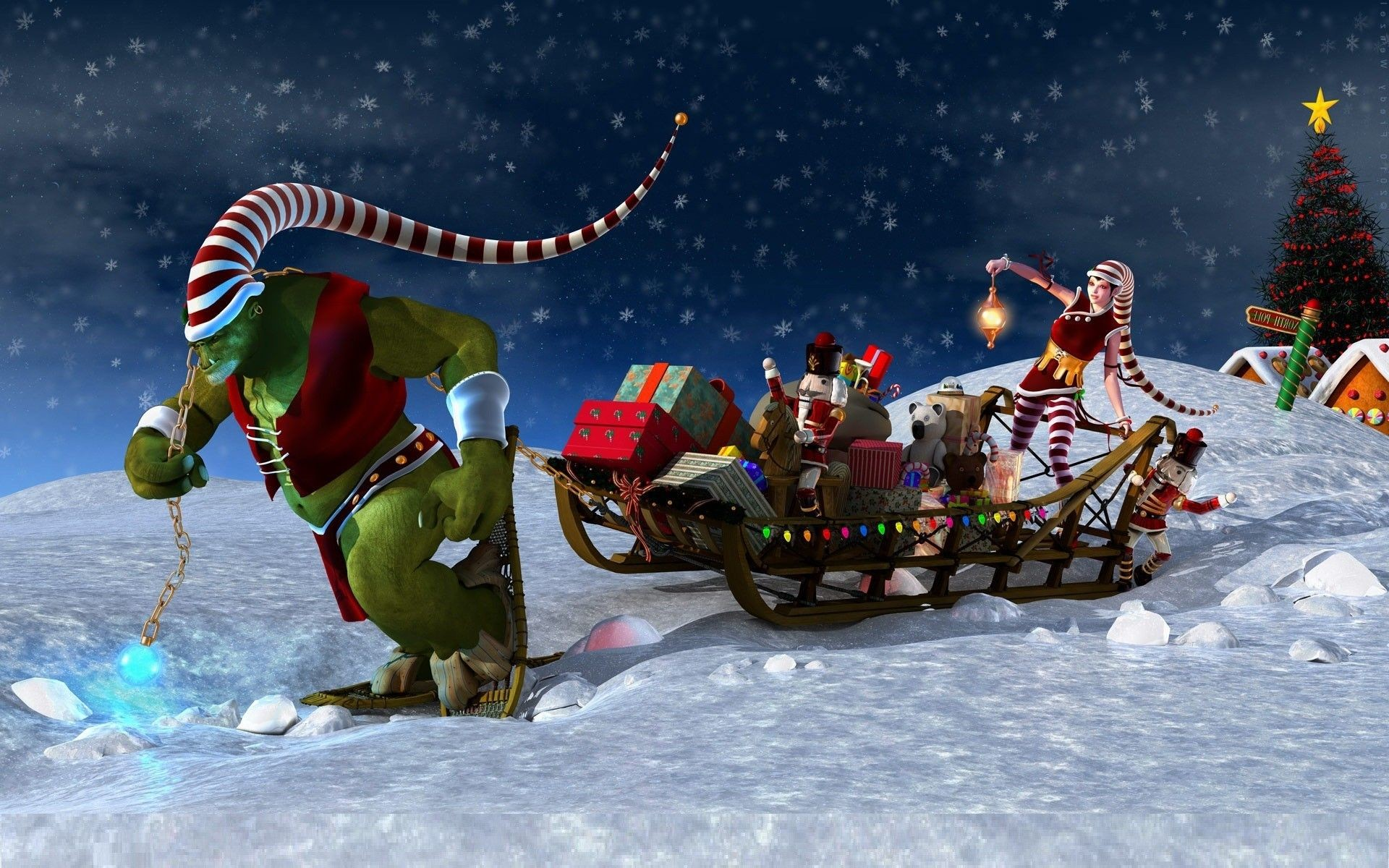 Desktop Christmas Wallpapers Backgrounds 65 Background Pictures