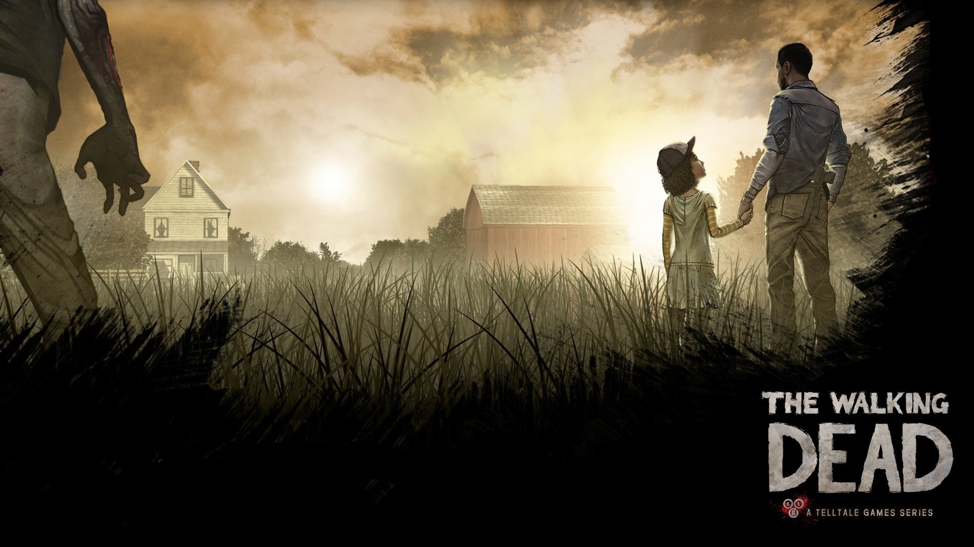 the walking dead game wallpapers (78+ background pictures)