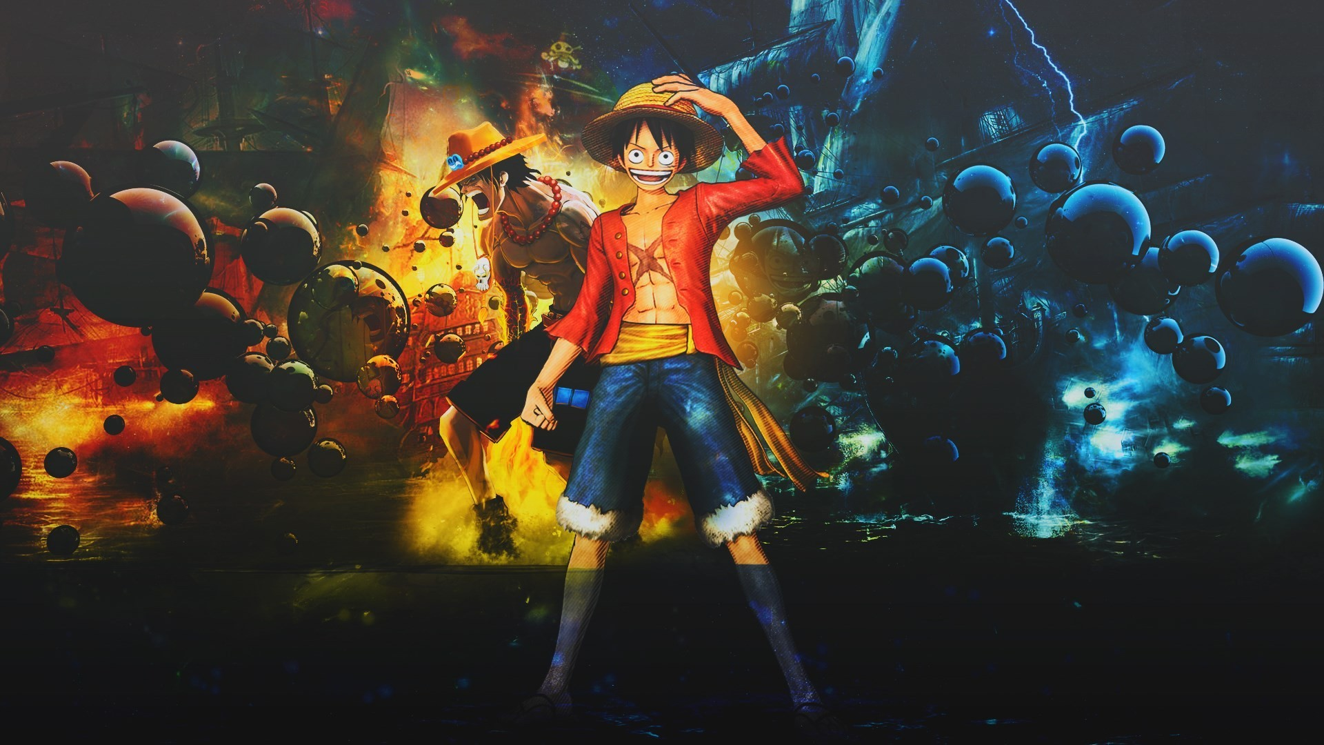 One piece wallpapers 1920x1080 78 background pictures - One piece wallpaper hd ...