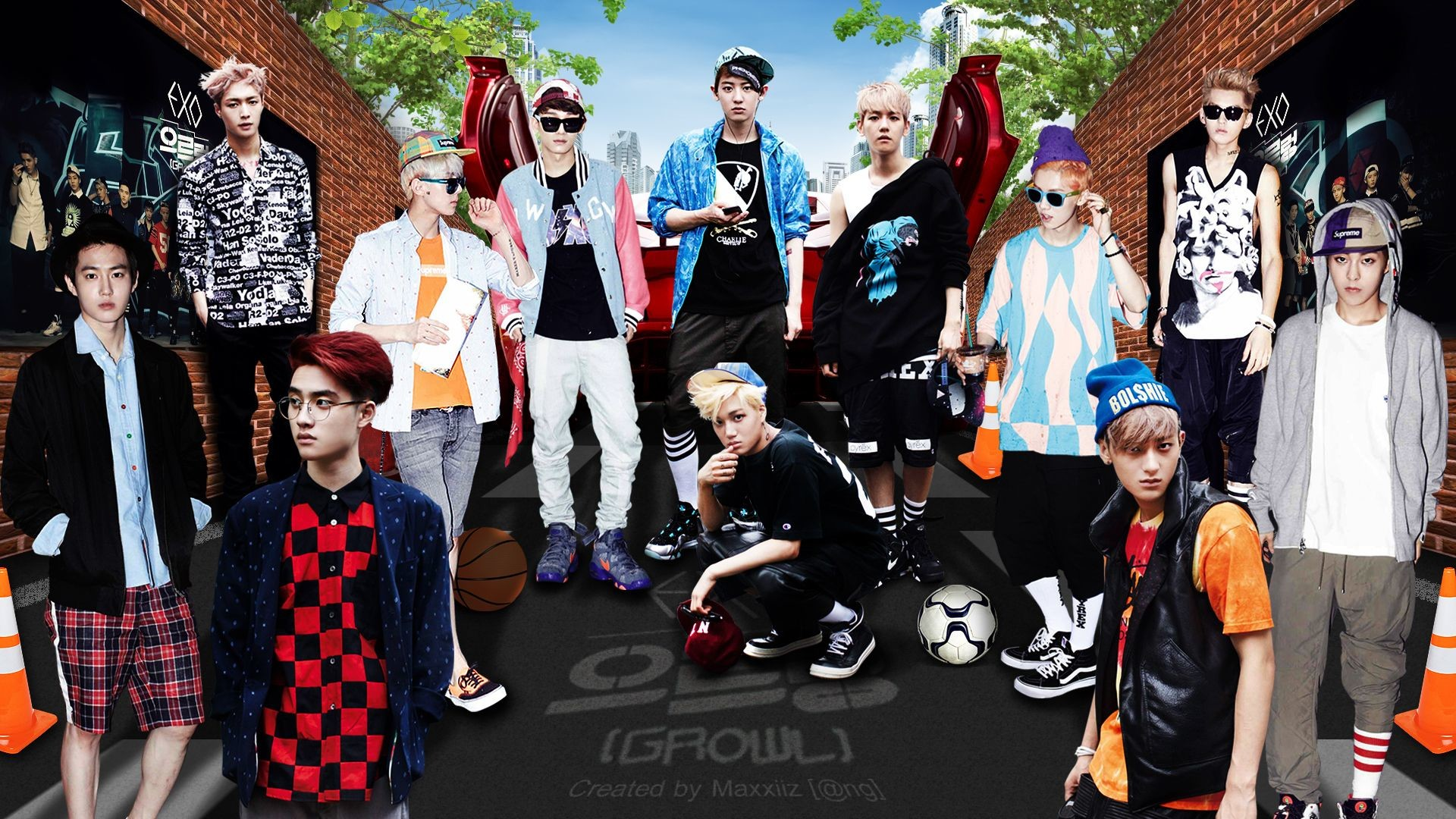 exo k pop wallpapers (80+ background pictures)
