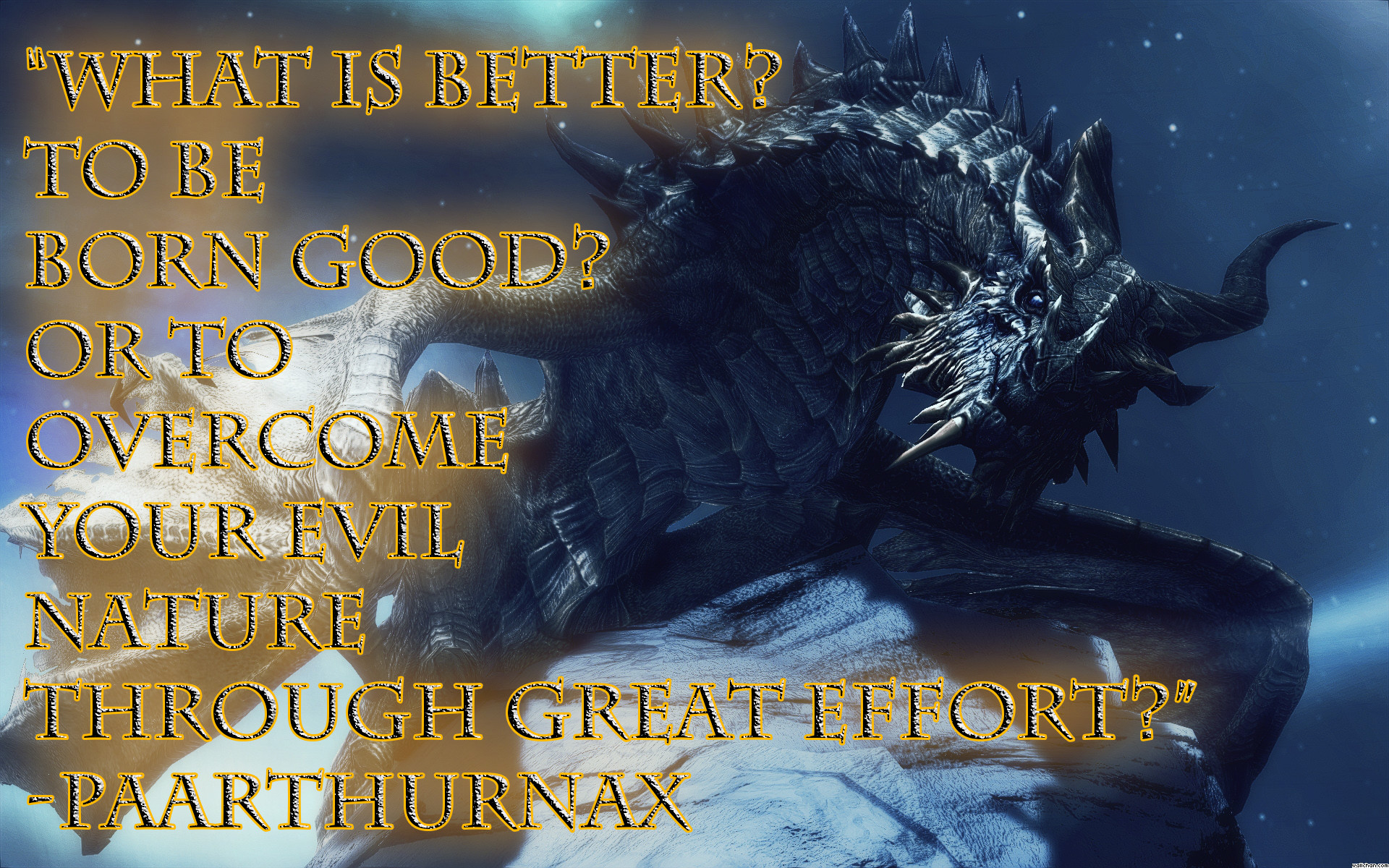 Skyrim Paarthurnax Wallpapers (84+ background pictures)