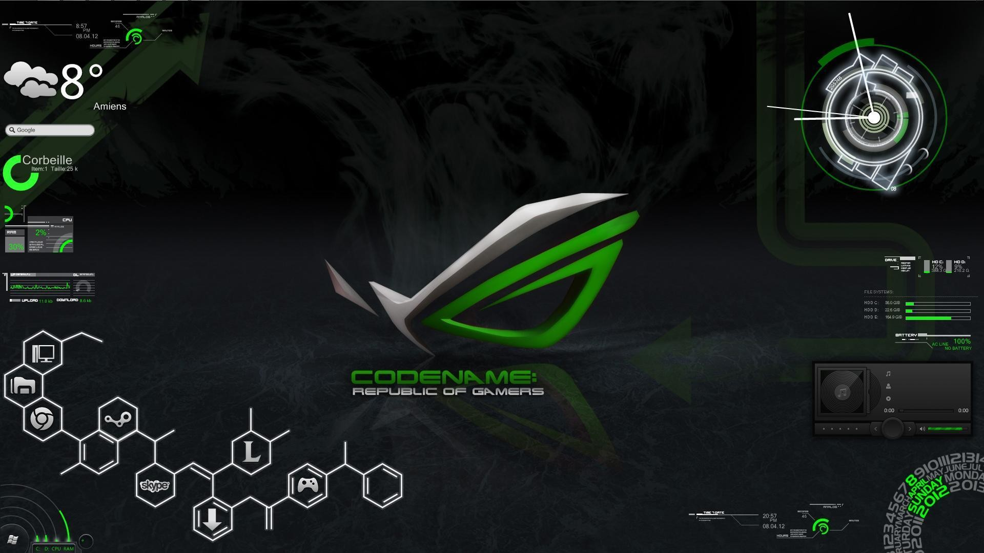 Asus Republic Of Gamers Wallpapers 82 Background Pictures