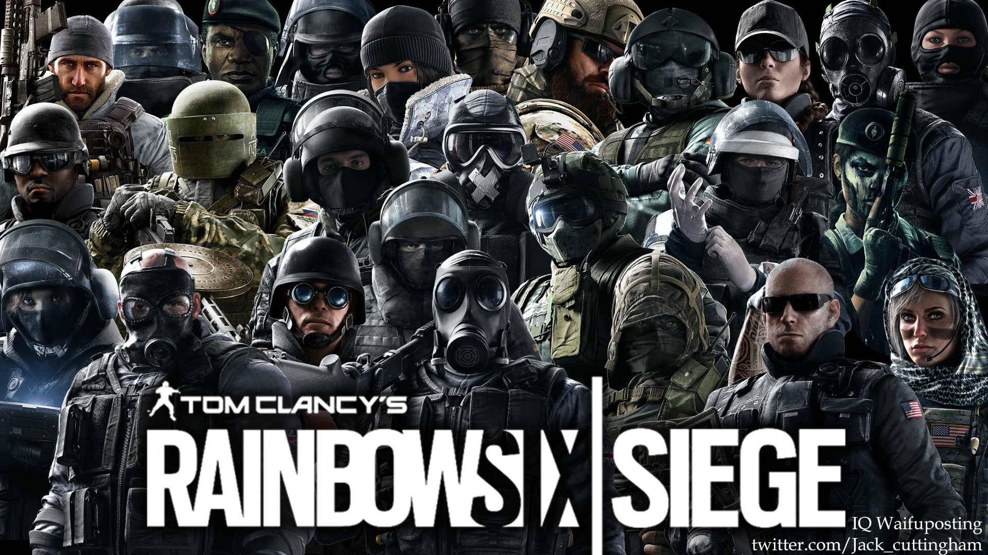 Rainbow Six Siege Operators Wallpaper: Rainbow Six Siege Wallpapers (76+ Background Pictures