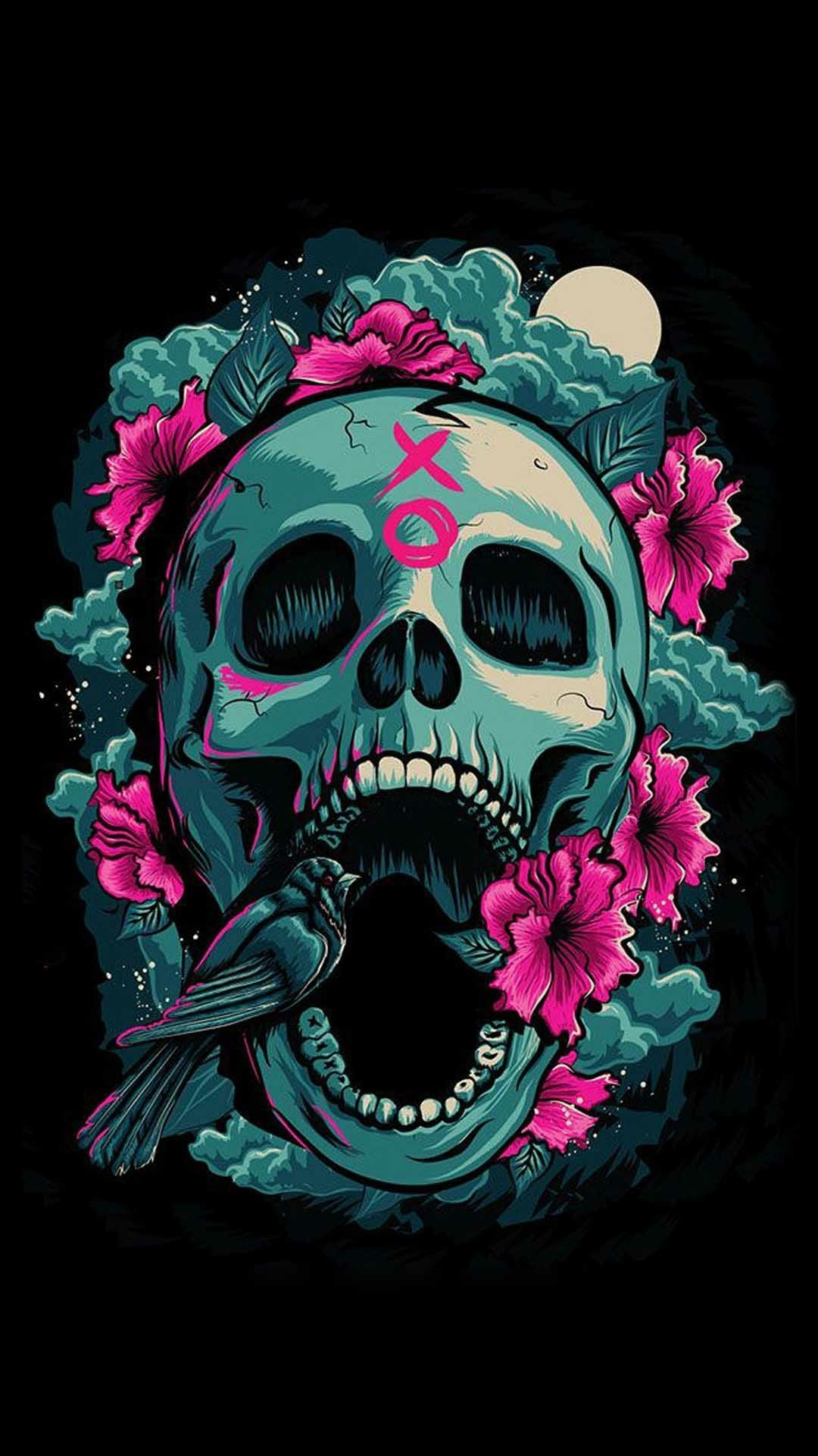 1080x1920 Sugar Skull Wallpaper For IPhone 62 Images
