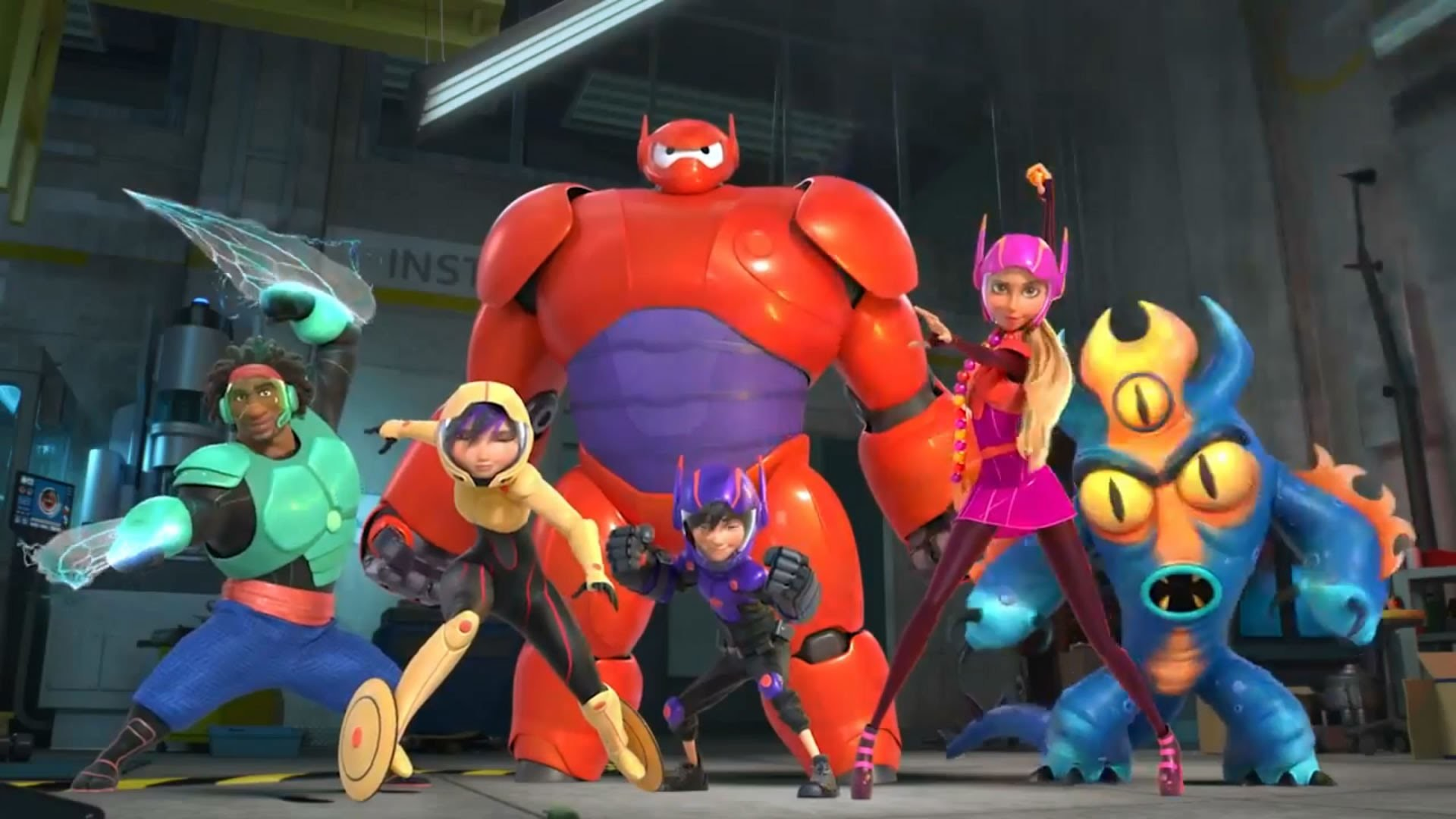 1920x1080 Big Hero 6 Hiro And Baymax By Batincinardizayn Android Wallpapers For Free