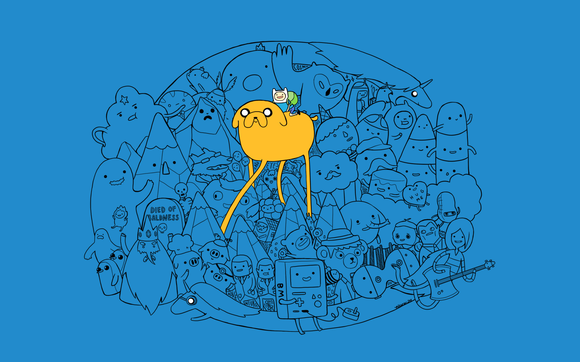 1920x1080 High Resolution Cute Adventure Time Finn And Jake Wallpapers HD .