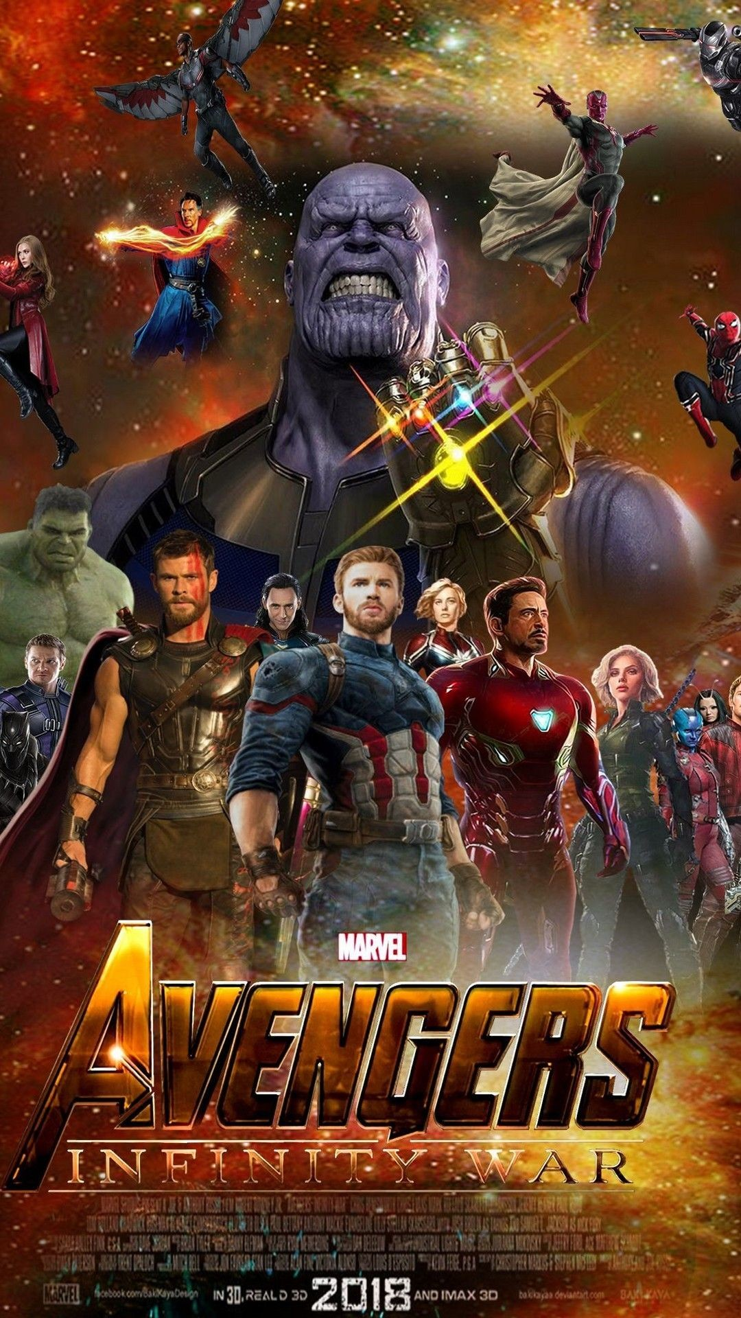 1080x1920 IPhone Wallpaper Avengers Infinity War