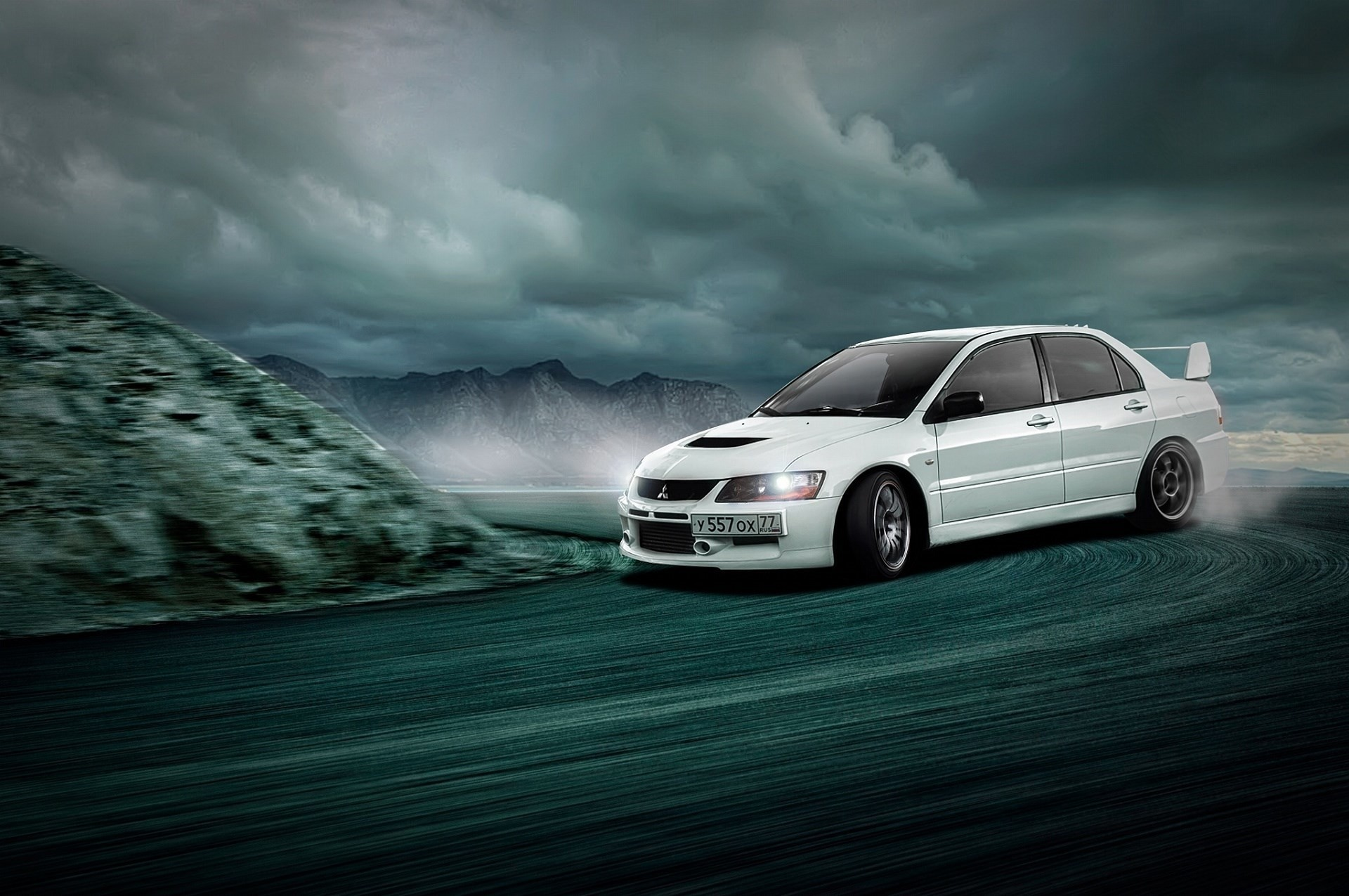Mitsubishi Evo 9 Wallpapers 62 Background Pictures