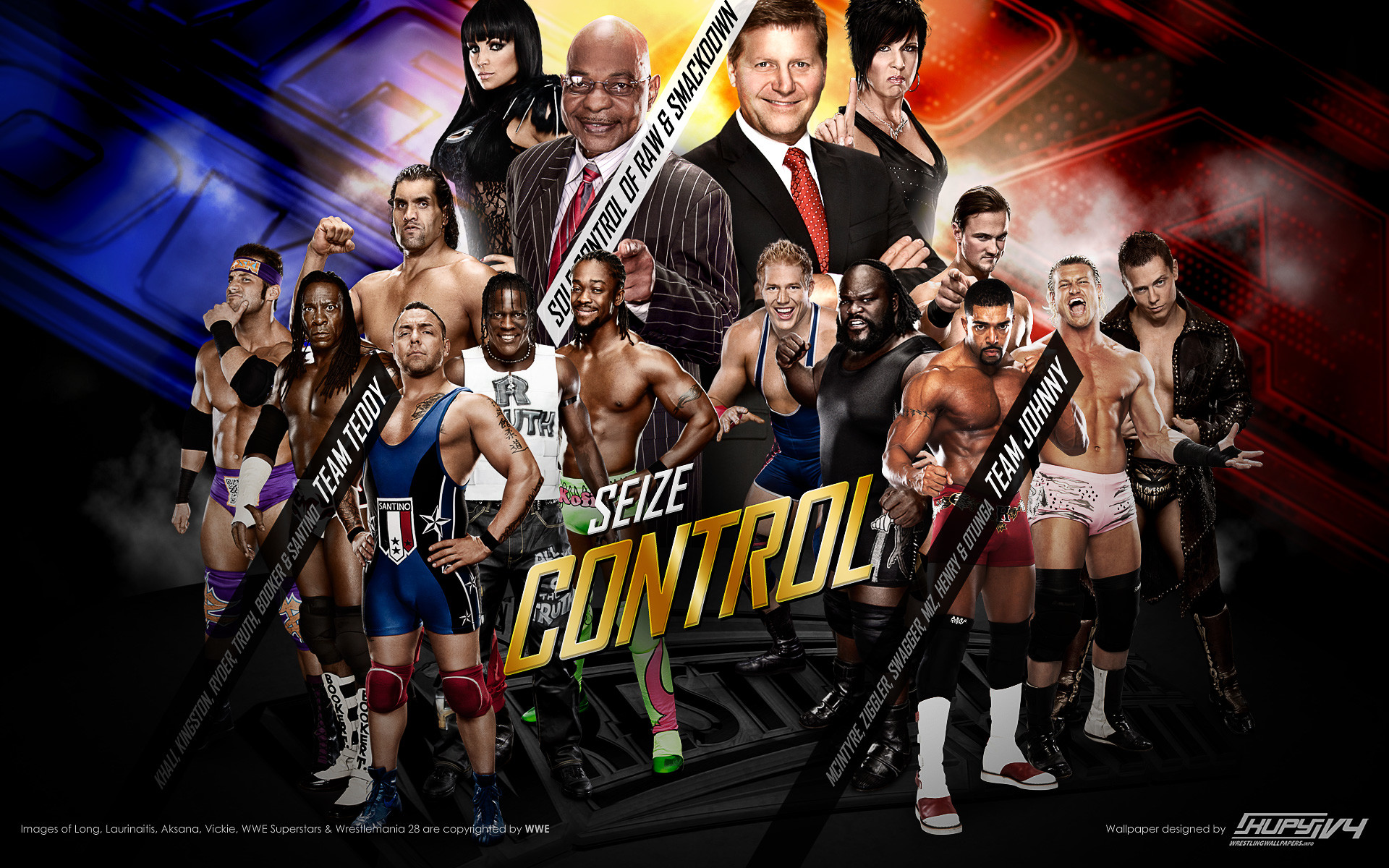 1920x1200 Team Teddy WrestleMania 28 WWE wallpaper 1920×1200 .