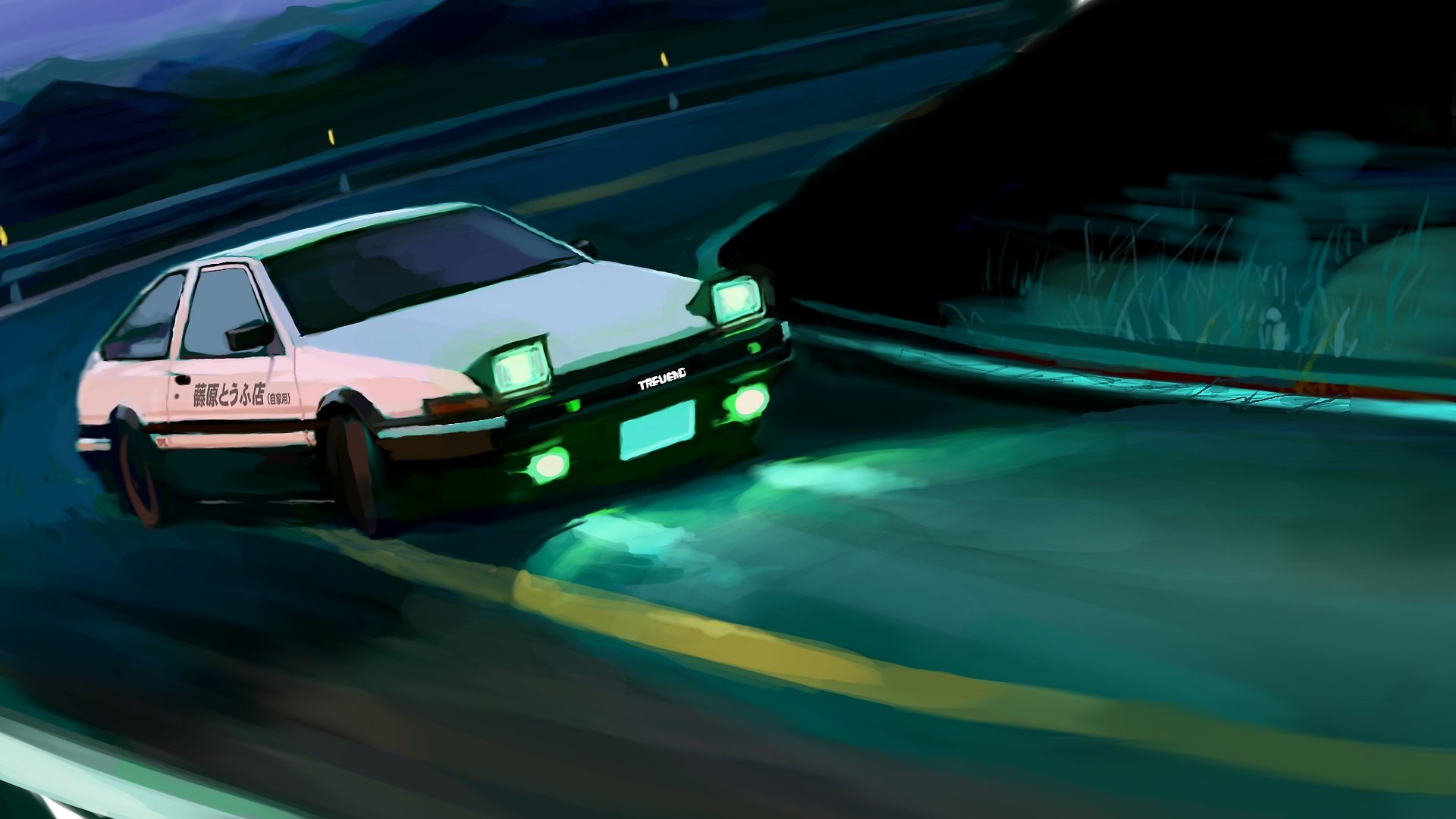 Wallpapers initial d 68 background pictures - Ae86 initial d wallpaper ...